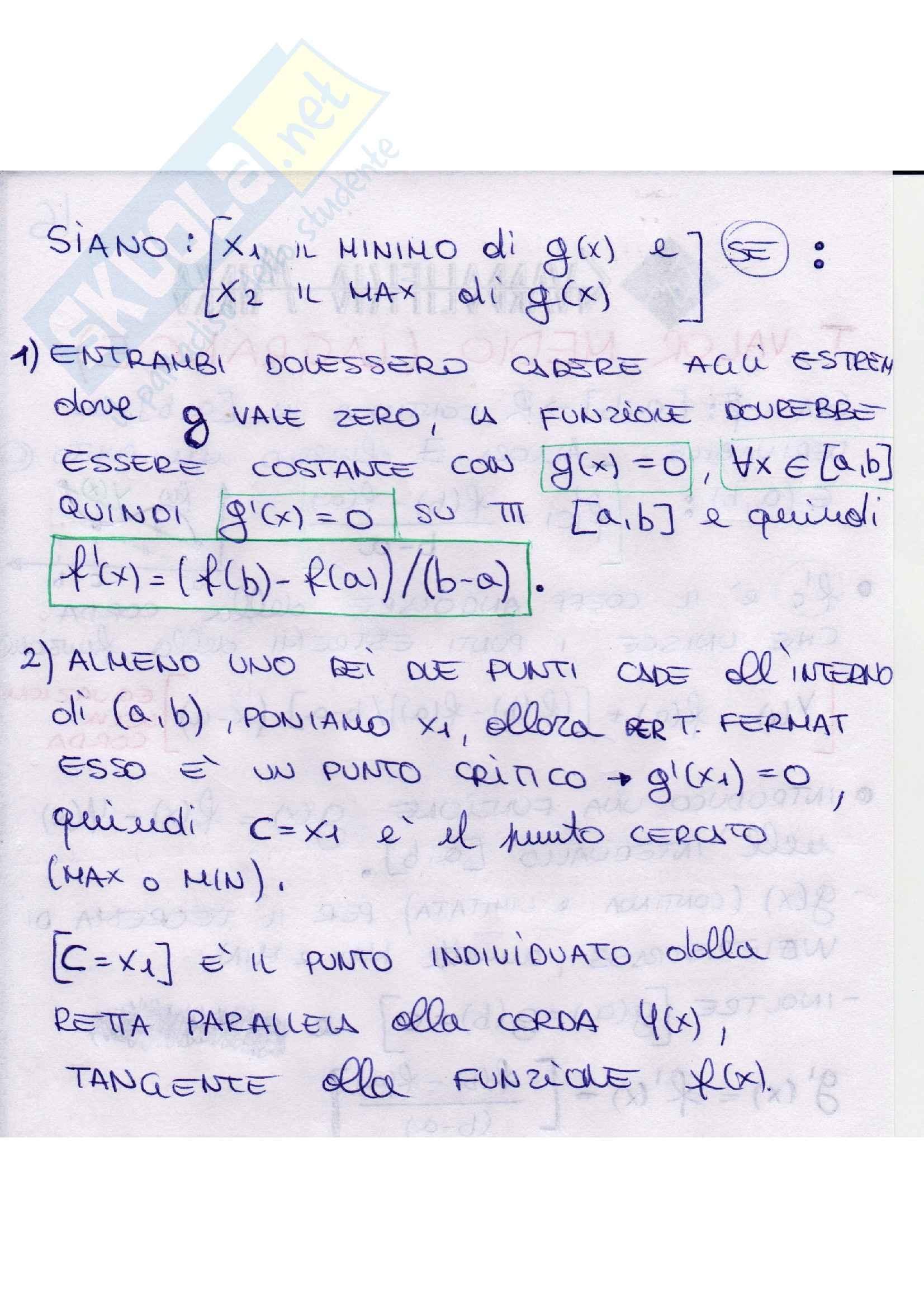 Analisi matematica - teoremi Pag. 21