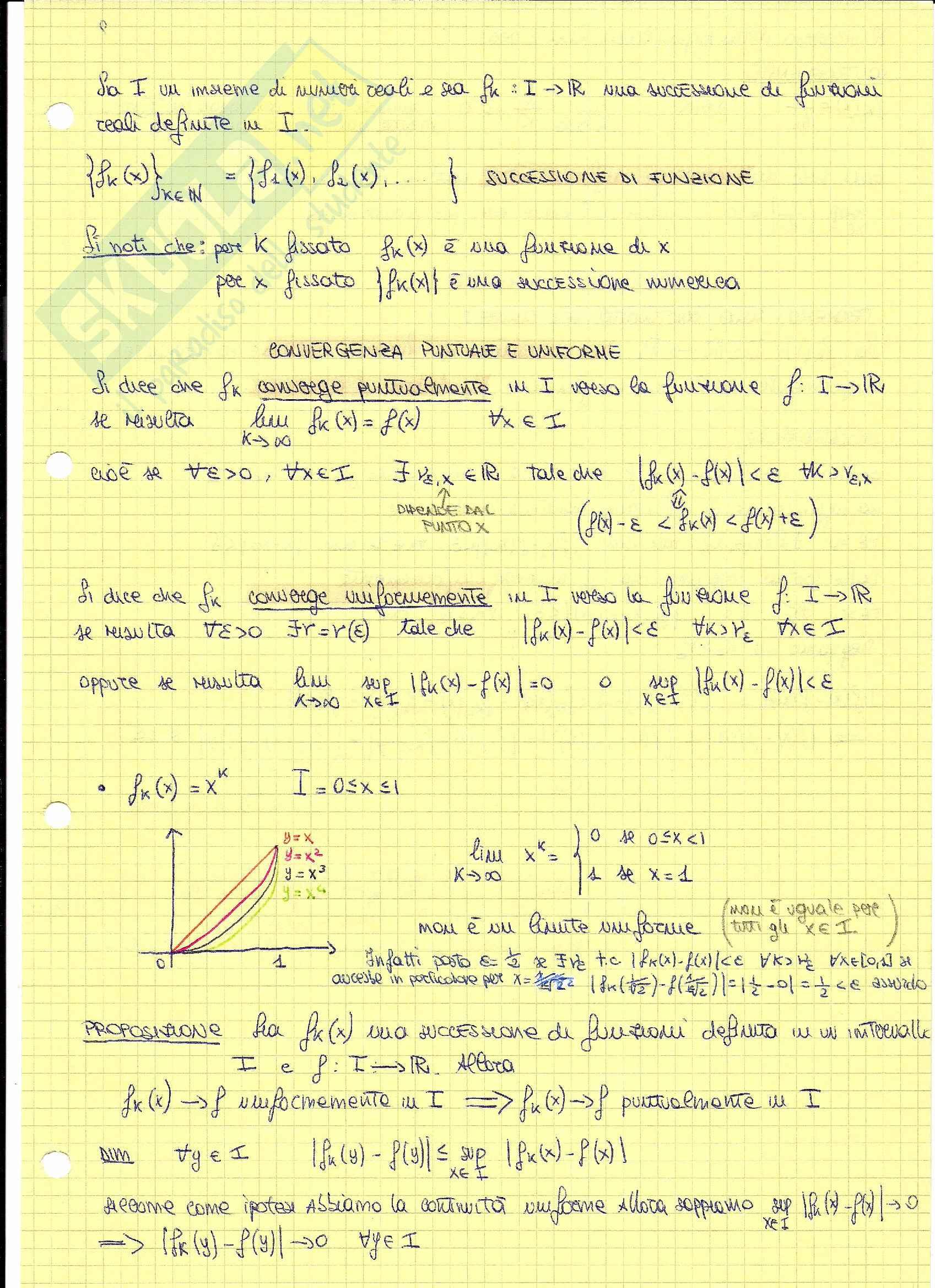 Appunti Corso Analisi Matematica 4