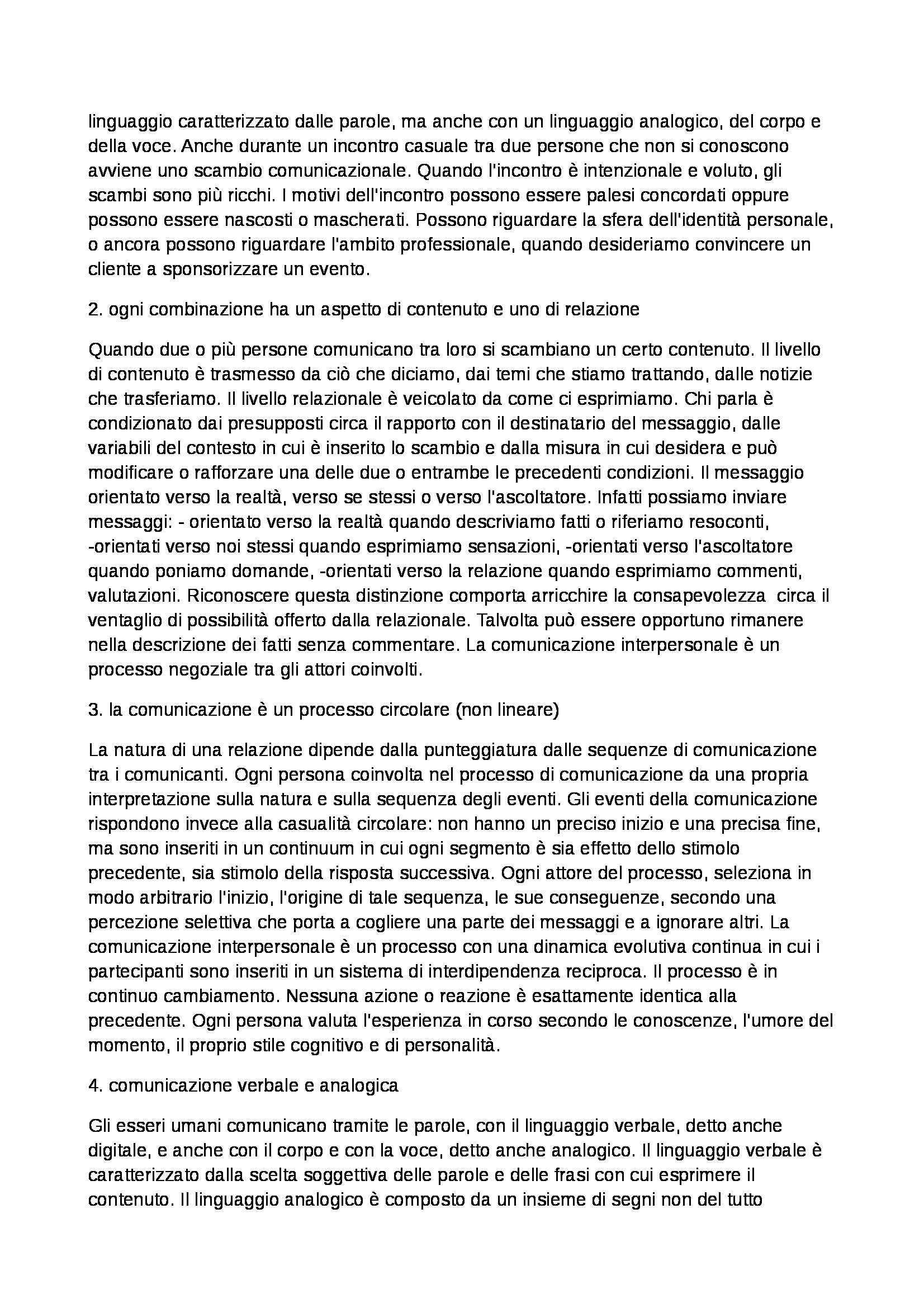 Riassunto esame Relazioni Pubbliche e Comunicazioni d'Impresa, prof. Invernizzi Pag. 11