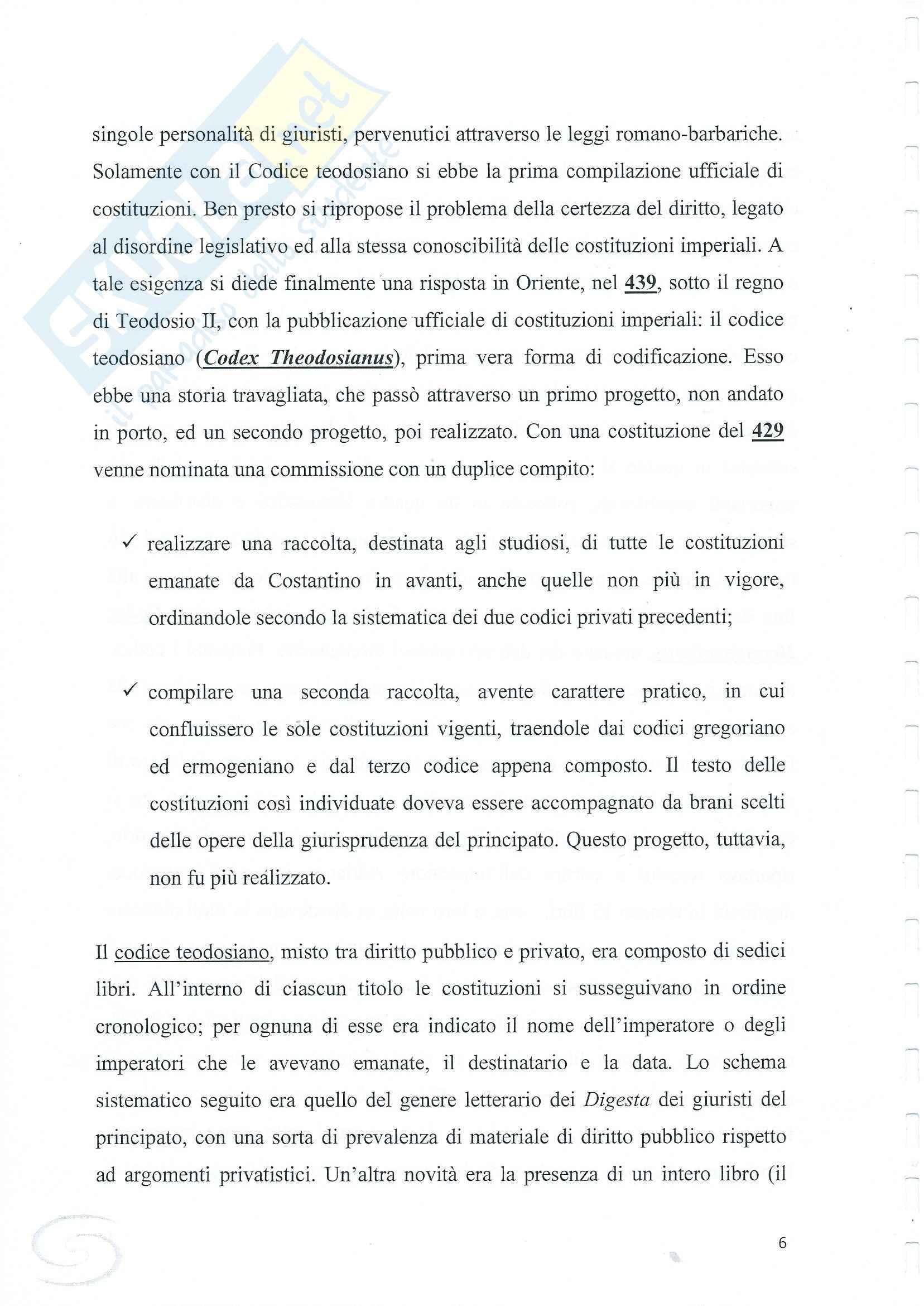 Evoluzione del diritto romano, Storia del diritto romano Pag. 6