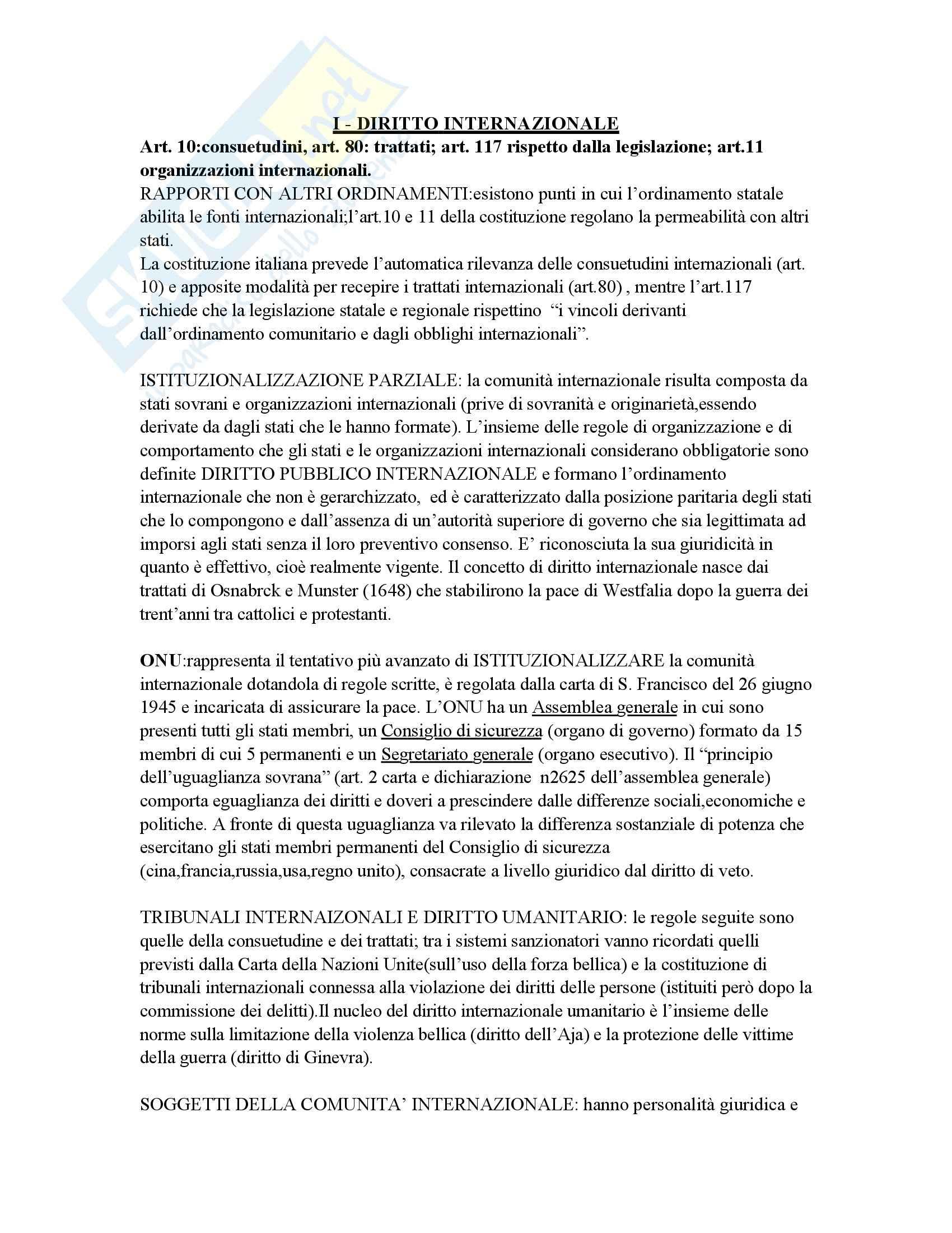 Riassunto esame Diritto pubblico comparato, prof. Ridola, libro consigliato Diritto costituzionale comparato, De Vergottini