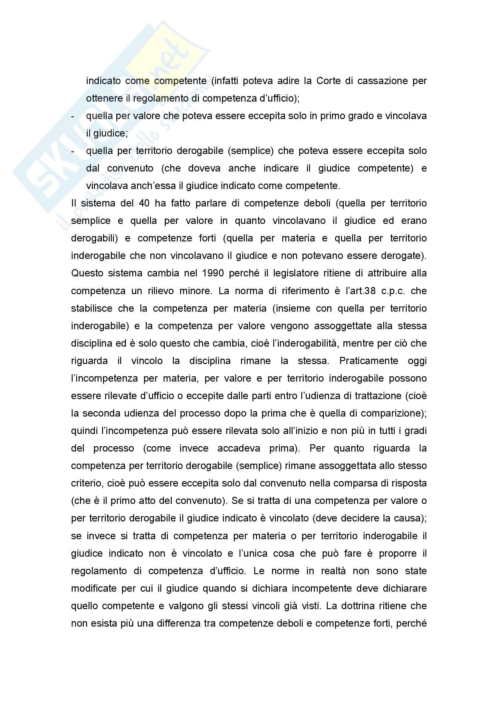 Diritto Processuale Civile - Appunti Pag. 41