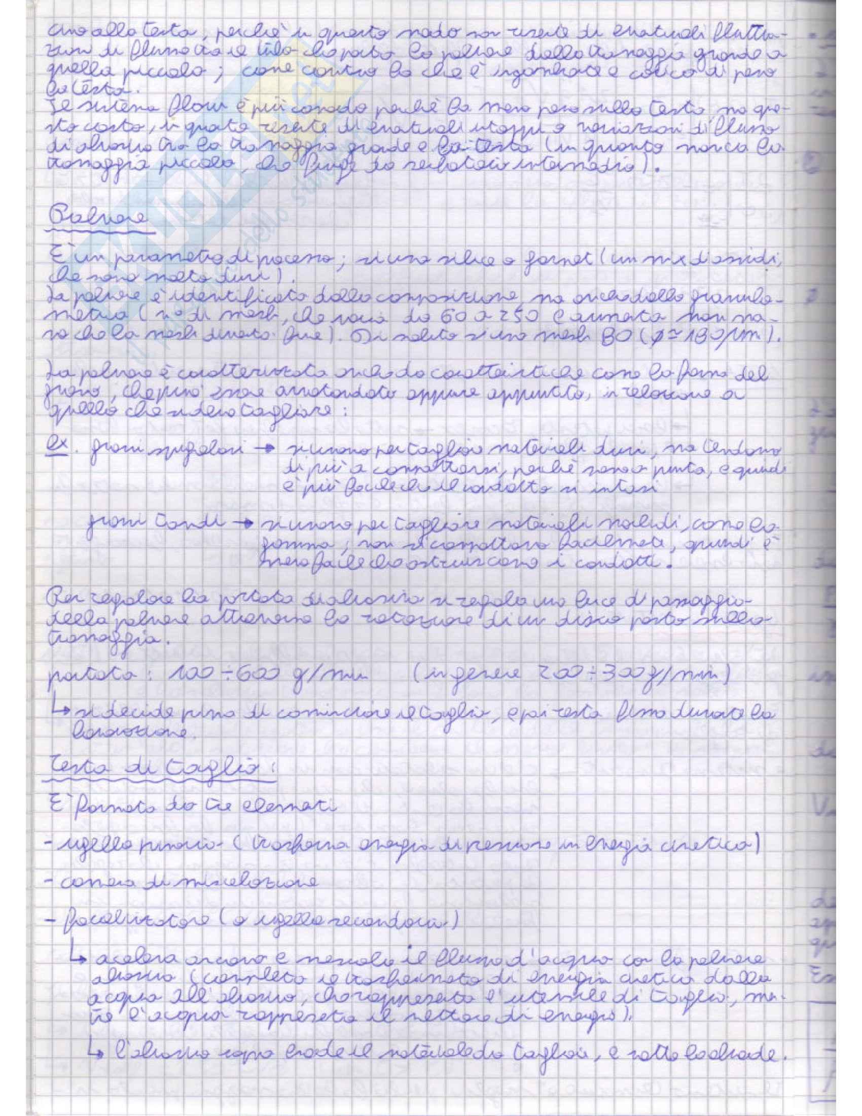 Tecnologia meccanica 2 - Appunti Pag. 36