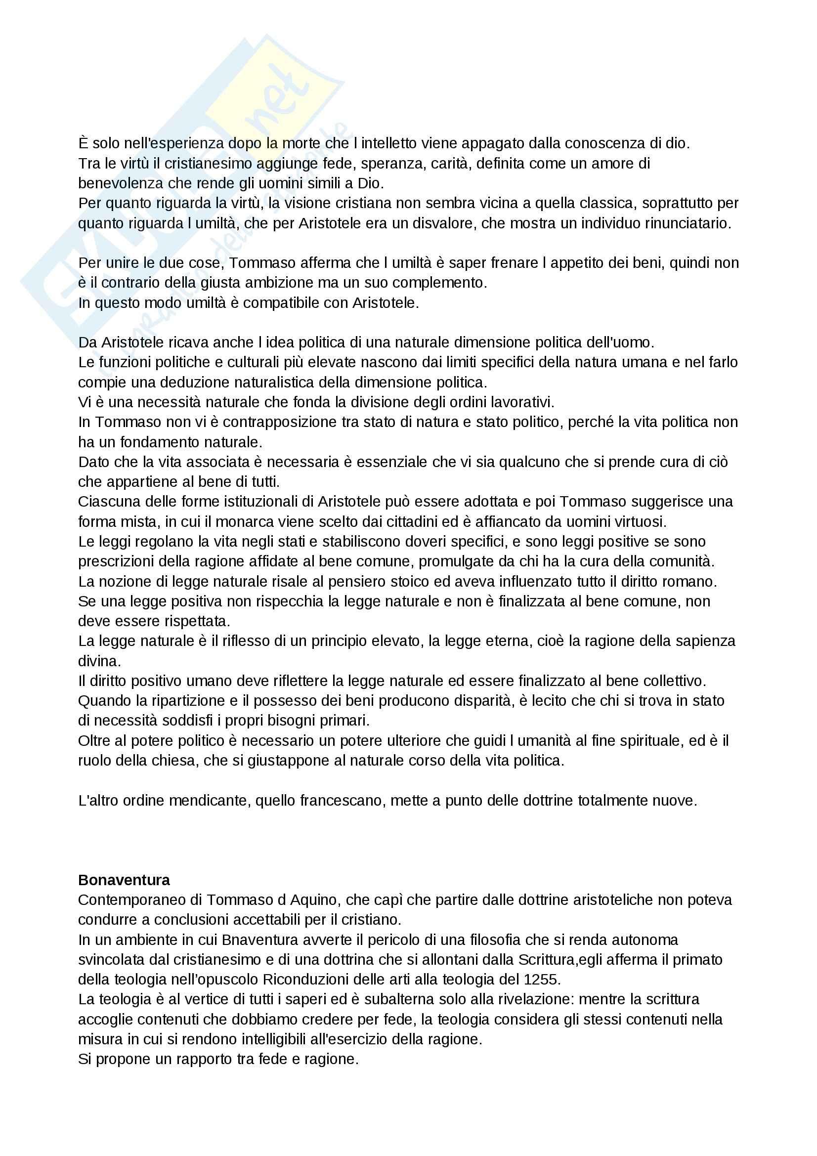 Riassunto esame istituzioni di storia della filosofia, prof. Perfetti, libro consigliato Le Ragioni della Filosofia, Vegetti, Fonnesu Pag. 66