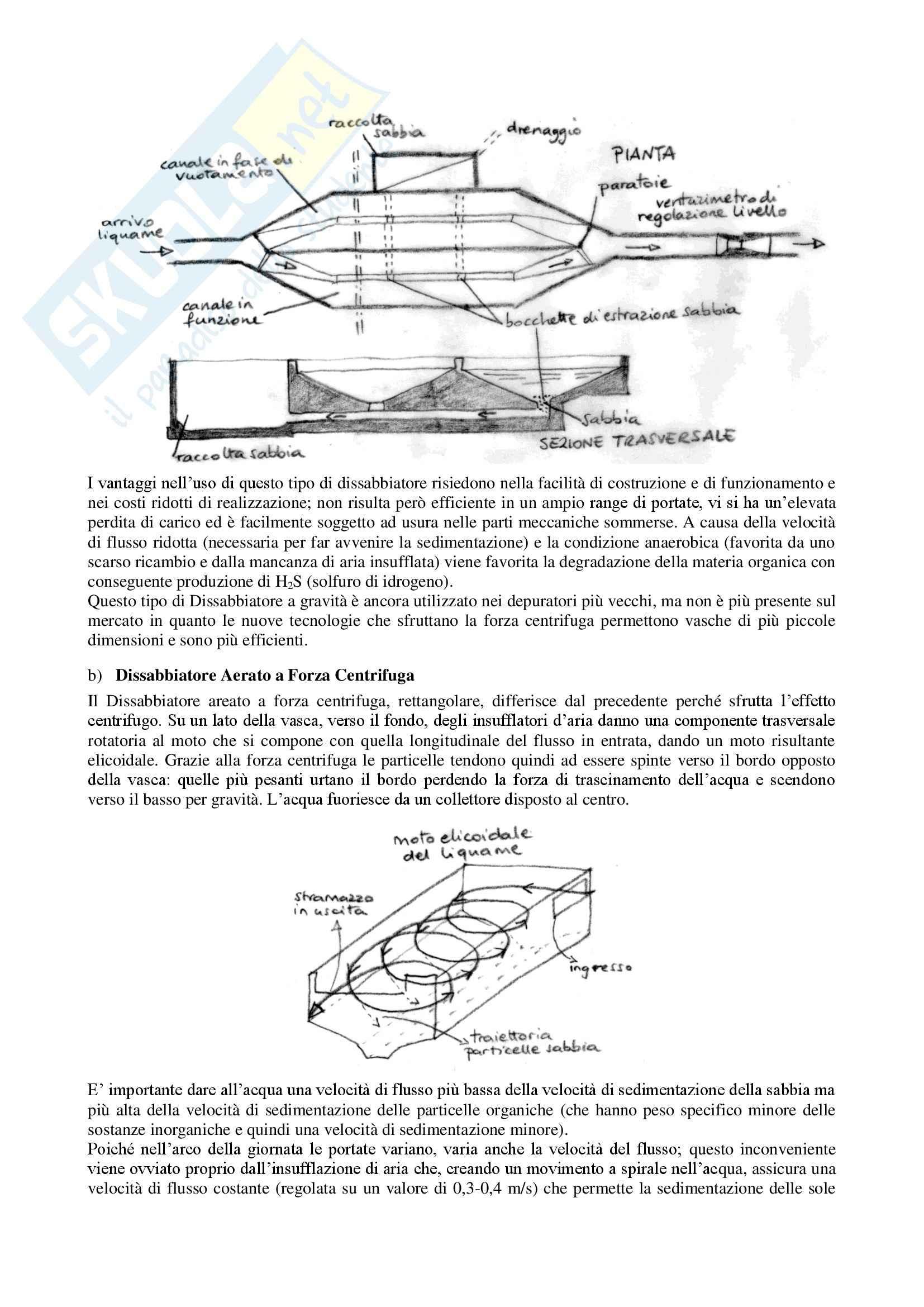 Trattamento delle Acque Reflue - Tesina Pag. 11