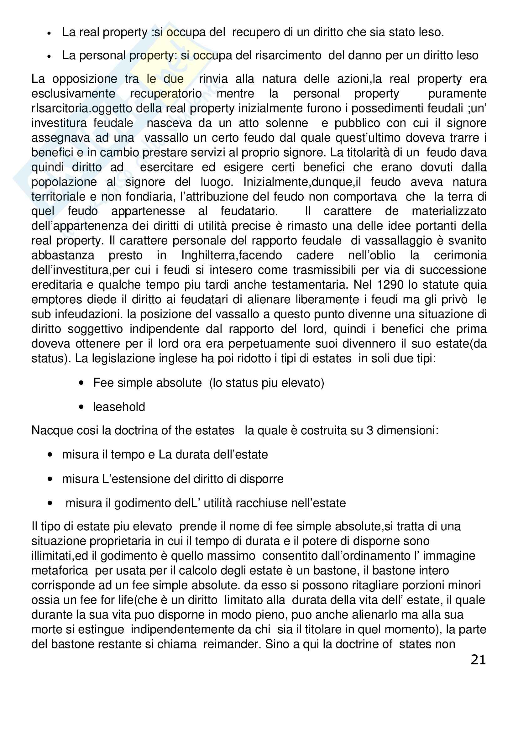 Riassunto esame Diritto Privato Comparato, prof. Corapi, libro consigliato Sistemi Giuridici Comparati, Gambaro, Sacco Pag. 21