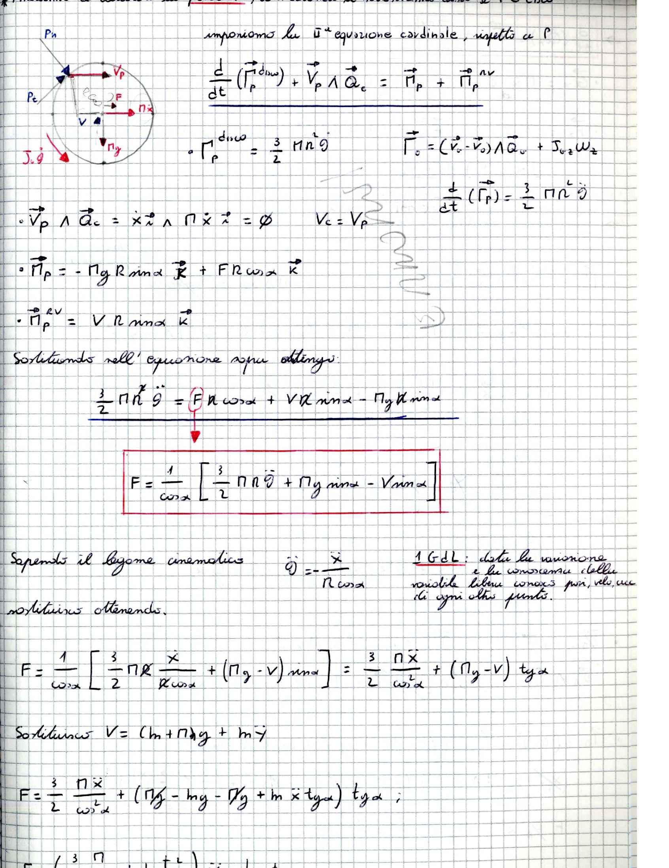 Meccanica applicata alle macchine - Appunti (parte terza) Pag. 11