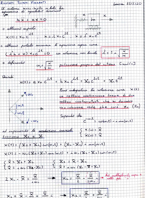 Meccanica applicata alle macchine - Appunti (parte terza) Pag. 26