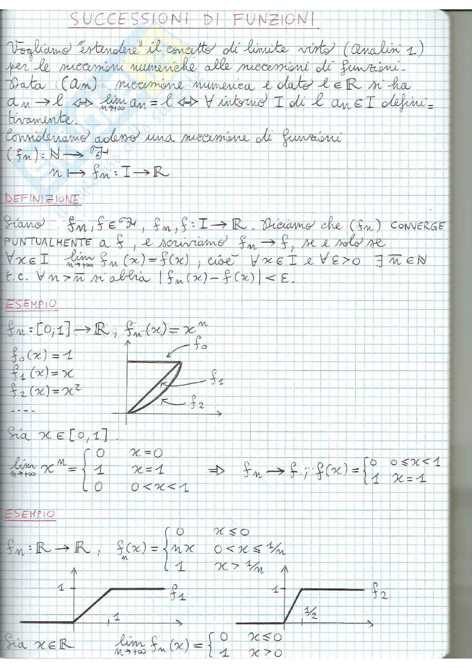 Appunti di Analisi Matematica 2