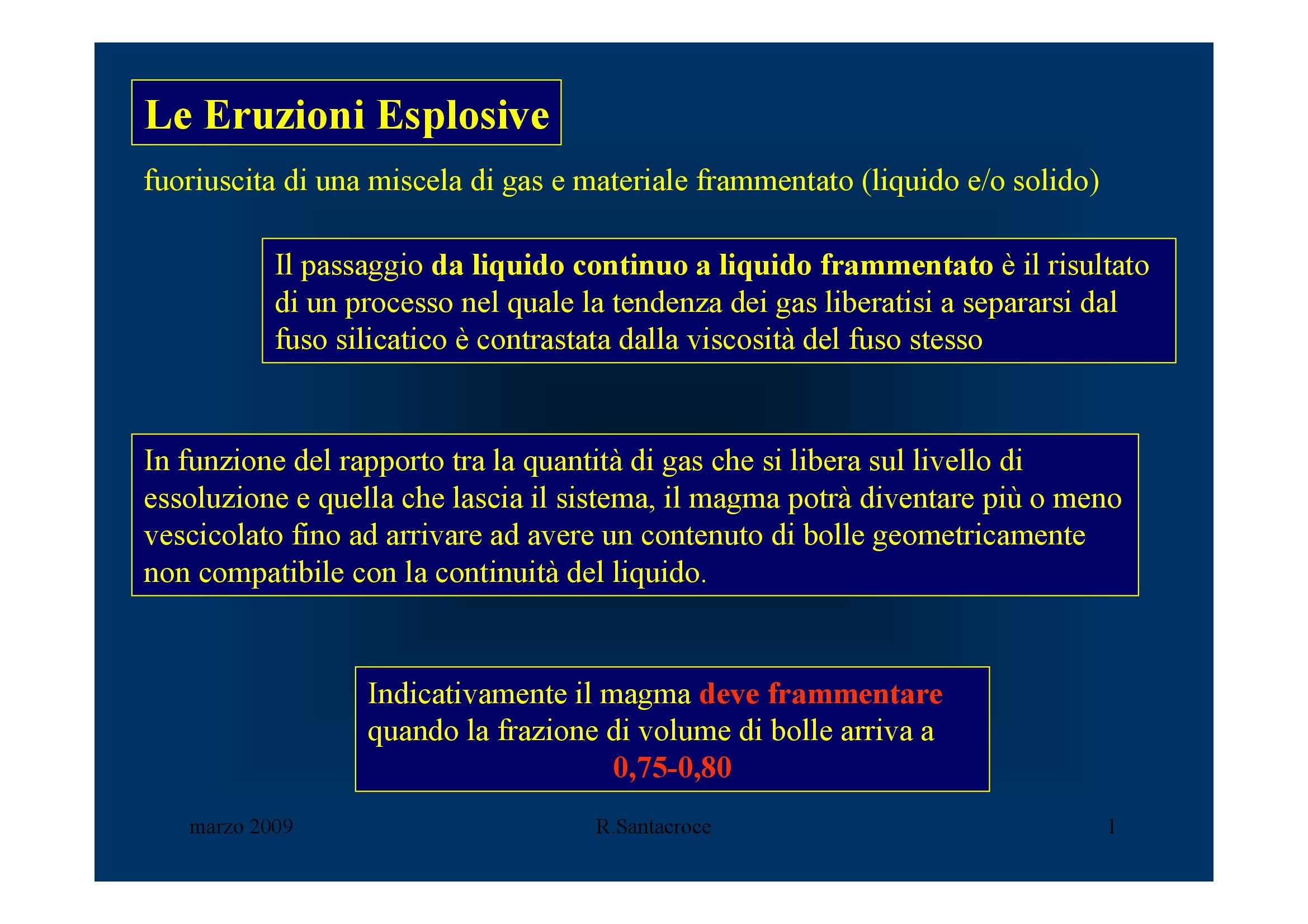 Eruzioni esplosive