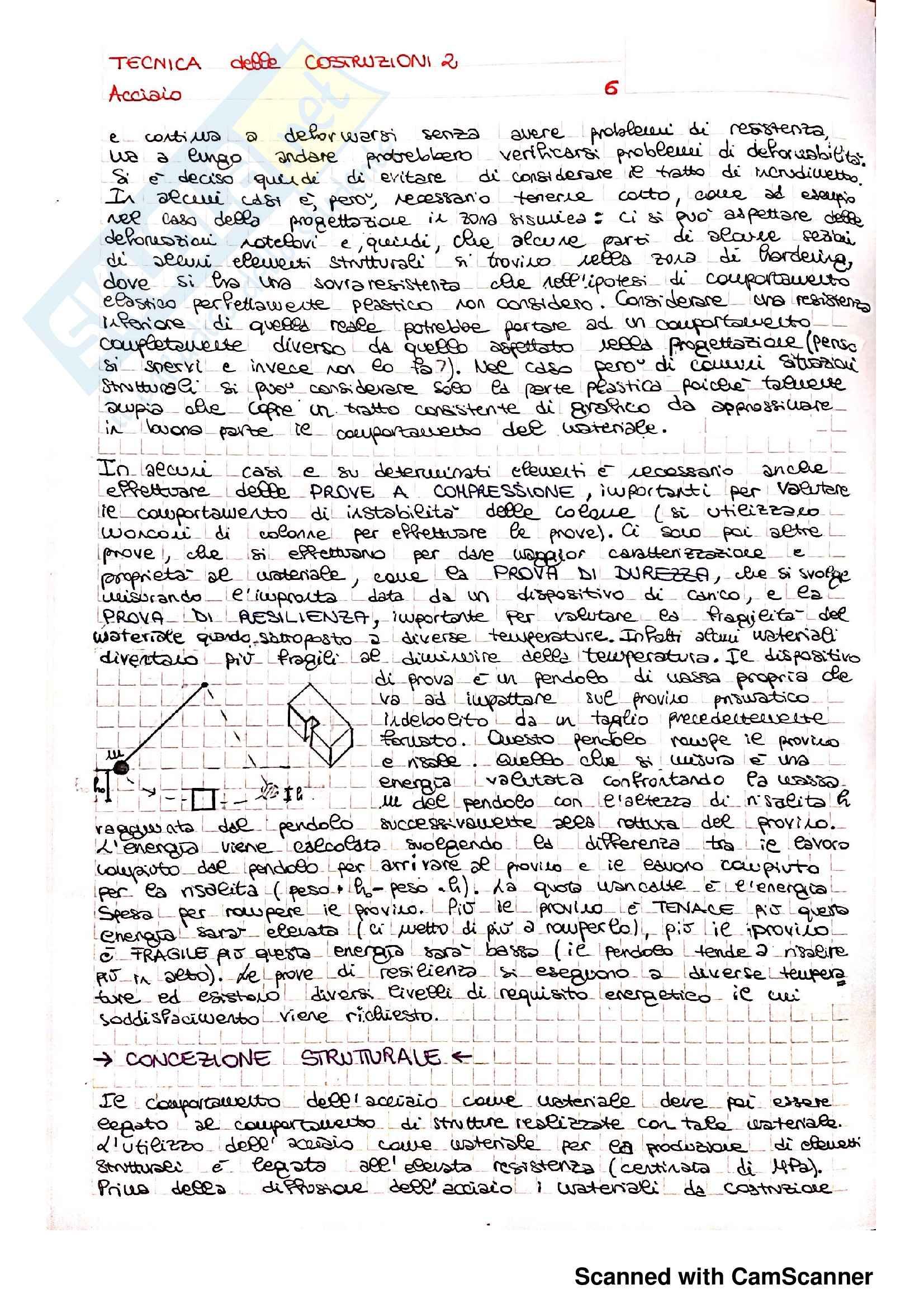 Tecnica delle Costruzioni 2 - Acciaio Pag. 6