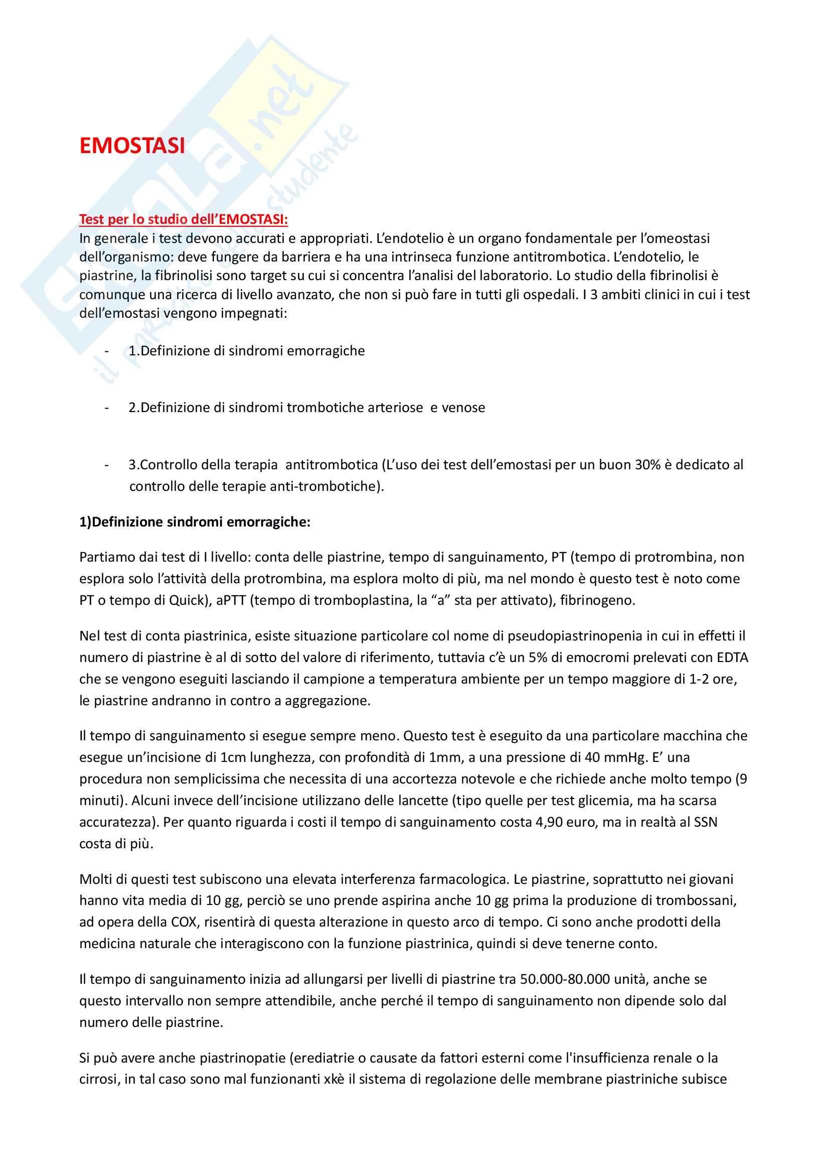 appunto R. Abbate Metodologia Clinica