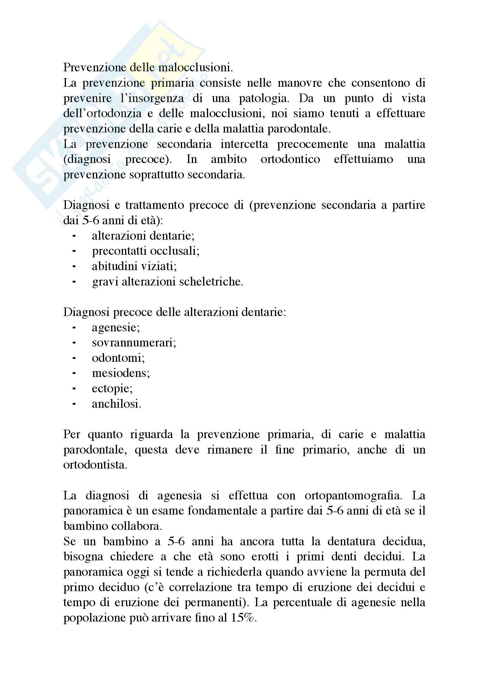 Appunti di Ortodonzia Pag. 41