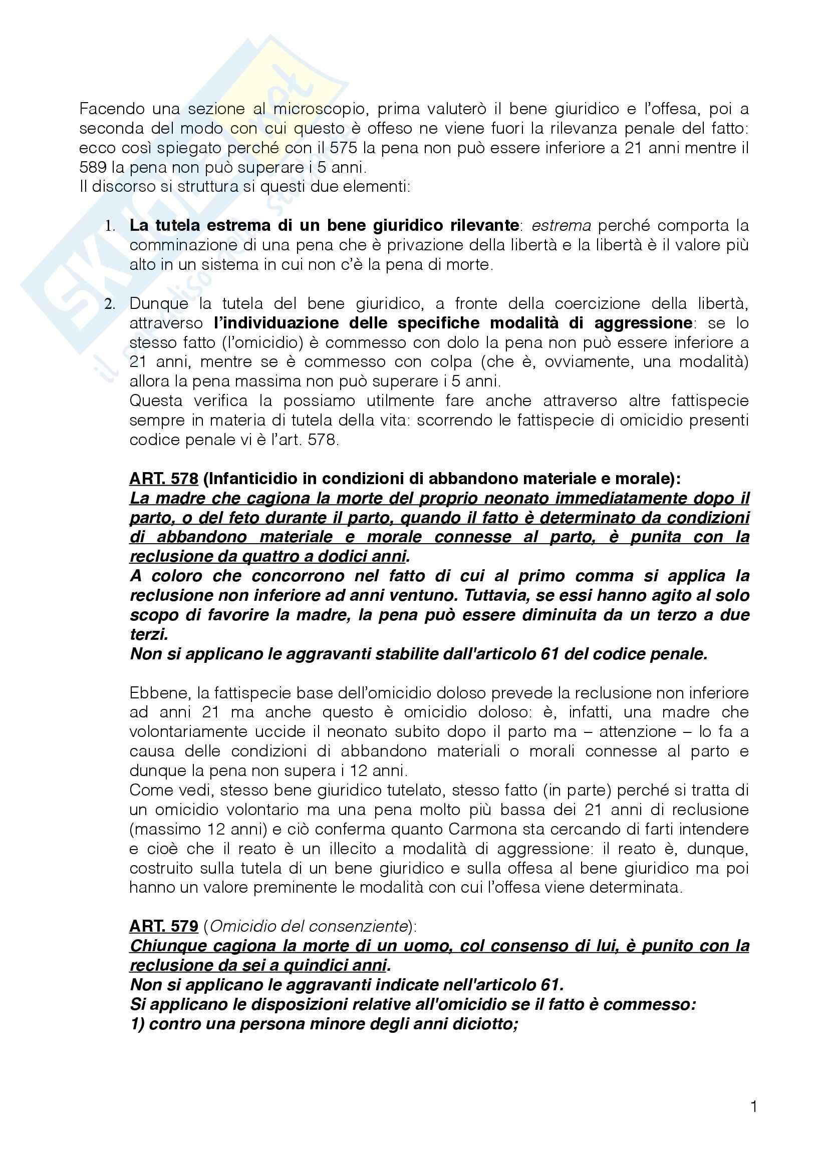 Diritto Penale I - Appunti Pag. 6