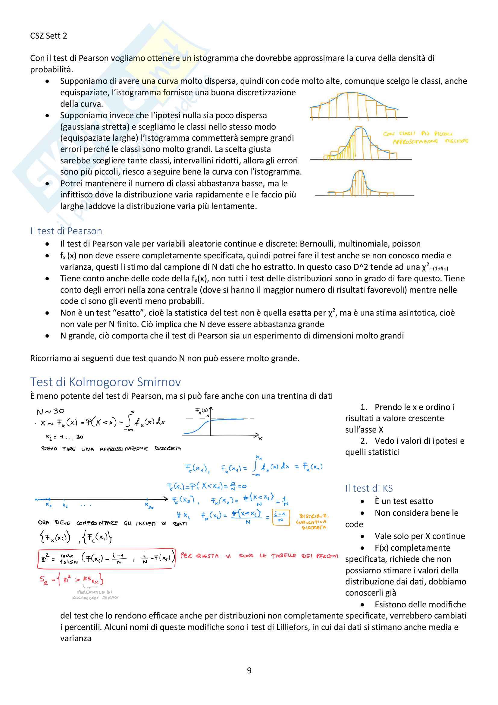 Appunti del corso Modellistica e identificazione, prof. De Santis Pag. 16