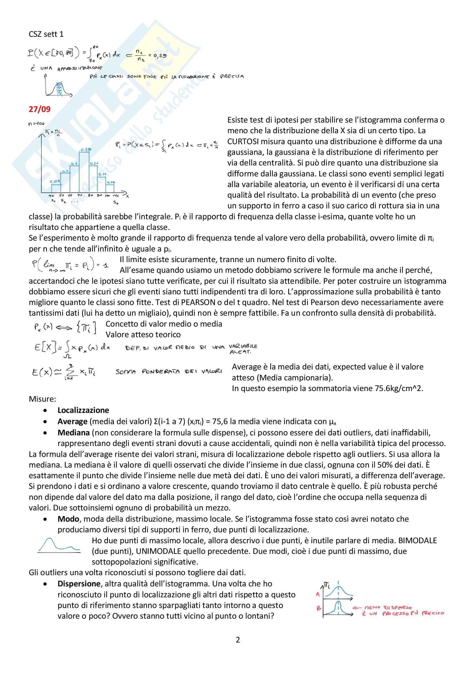 Appunti del corso Modellistica e identificazione, prof. De Santis Pag. 2
