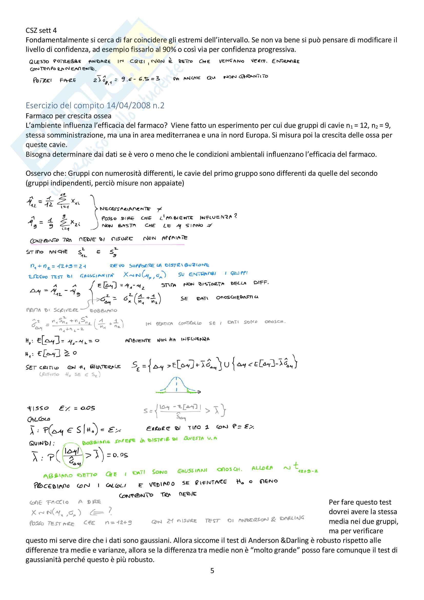 Appunti del corso Modellistica e identificazione, prof. De Santis Pag. 31