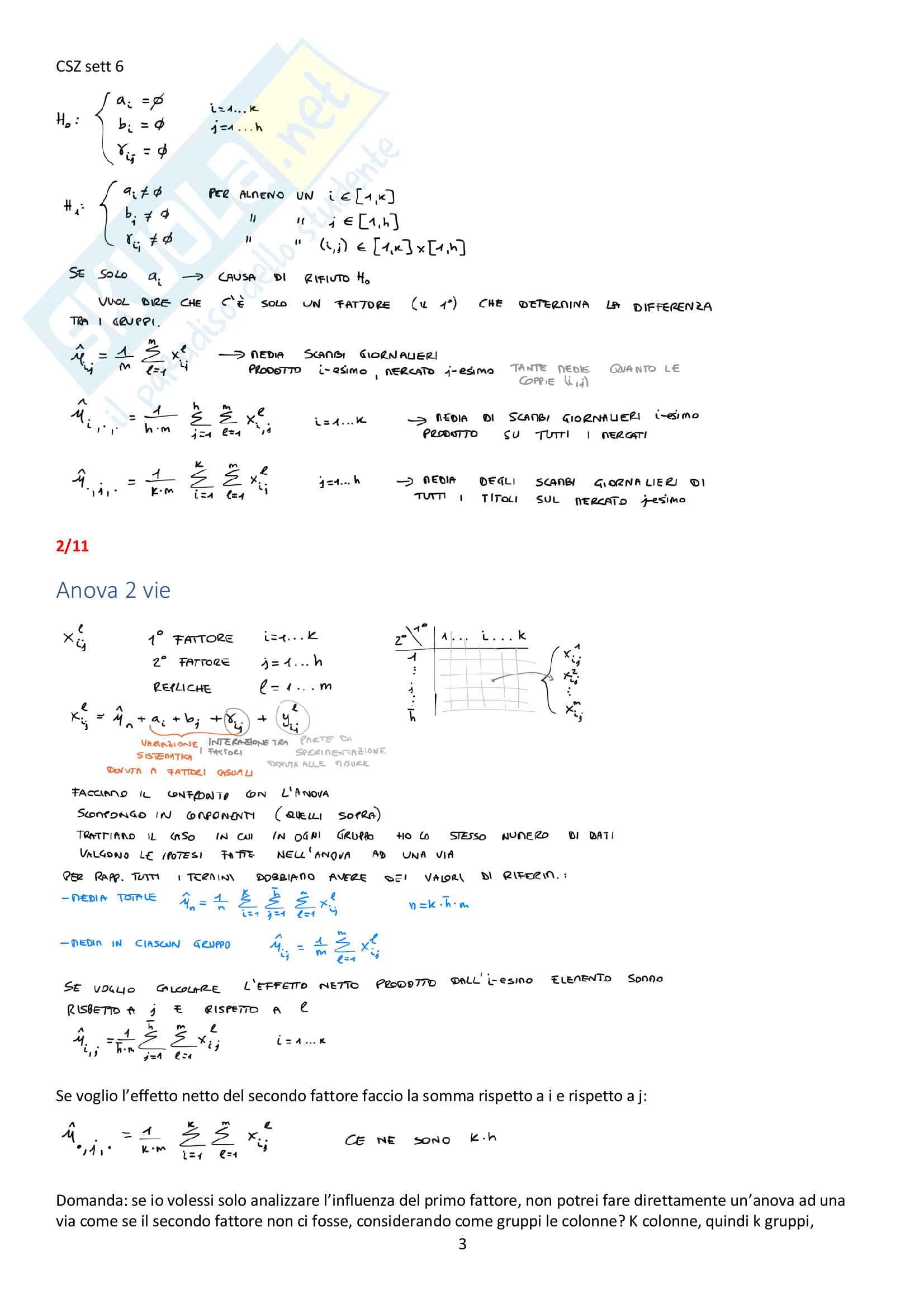 Appunti del corso Modellistica e identificazione, prof. De Santis Pag. 46