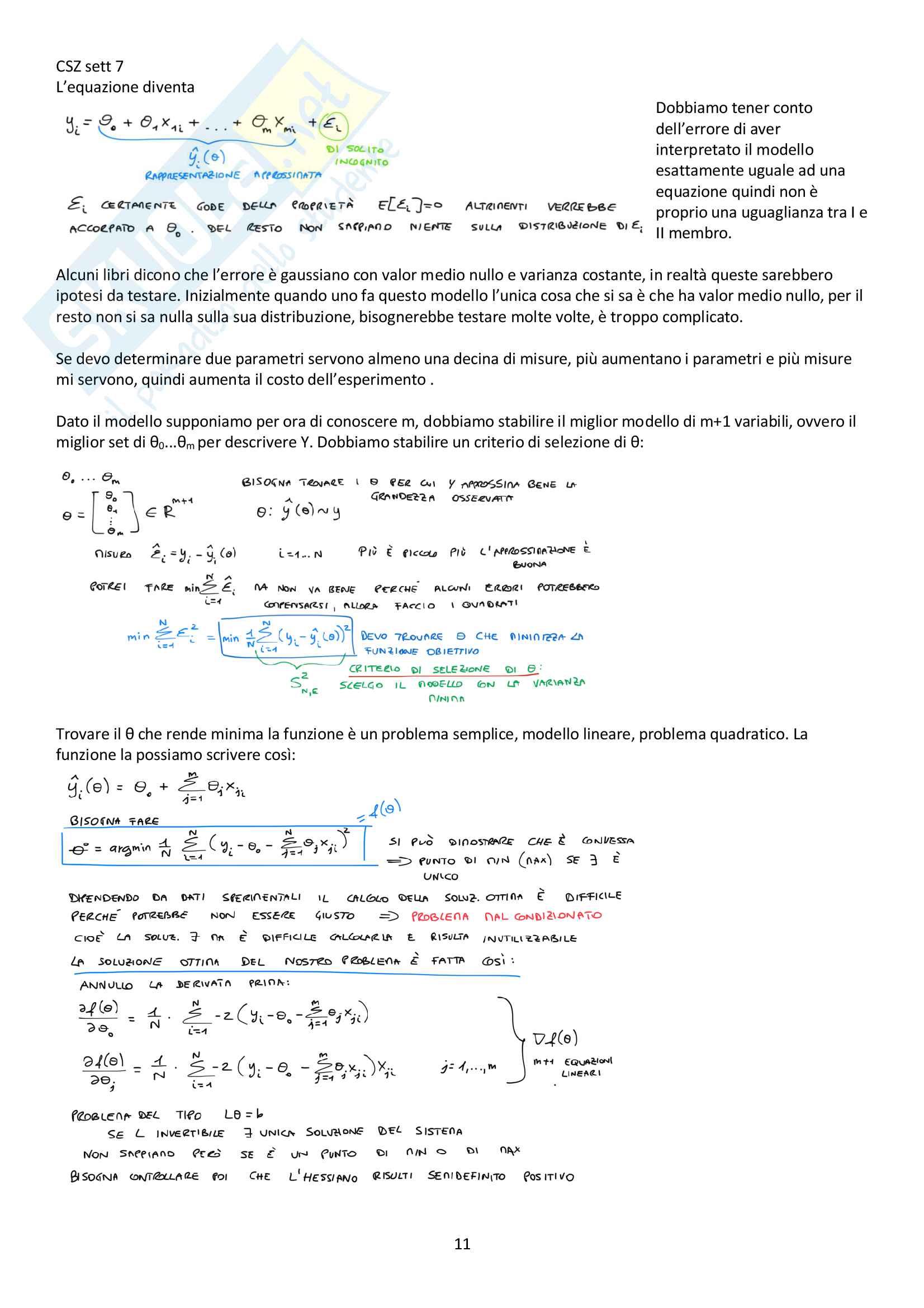 Appunti del corso Modellistica e identificazione, prof. De Santis Pag. 61