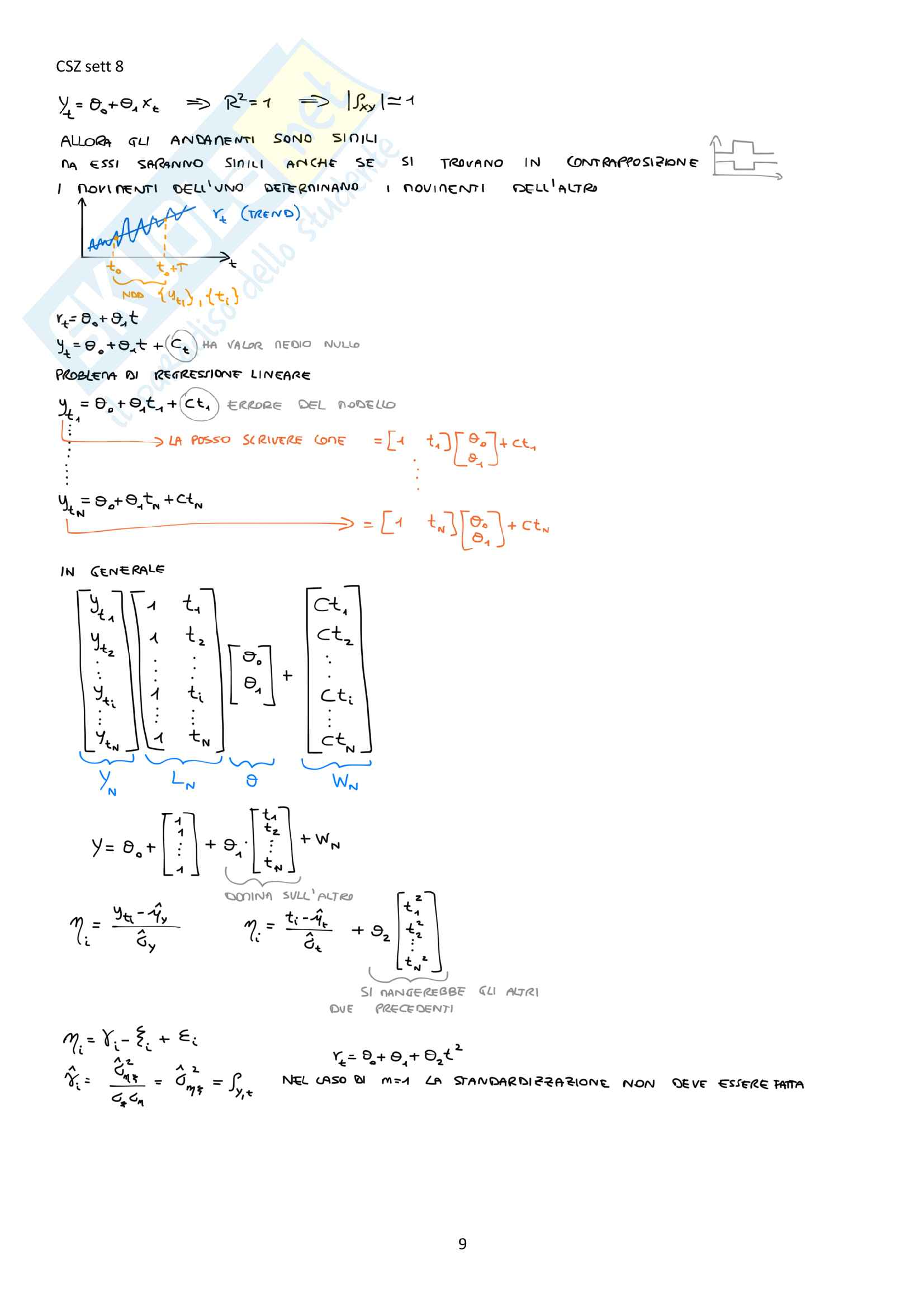 Appunti del corso Modellistica e identificazione, prof. De Santis Pag. 71