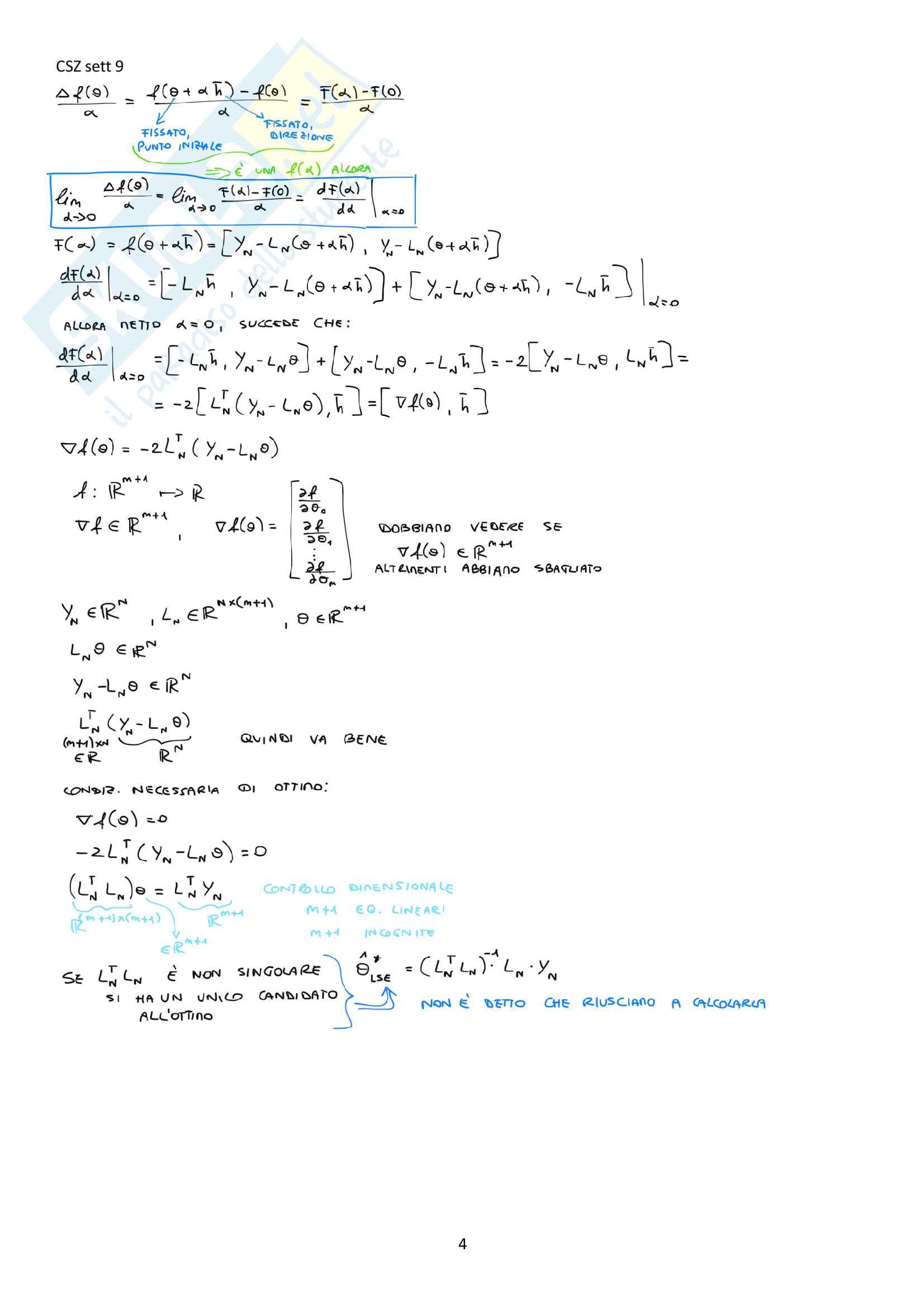 Appunti del corso Modellistica e identificazione, prof. De Santis Pag. 76