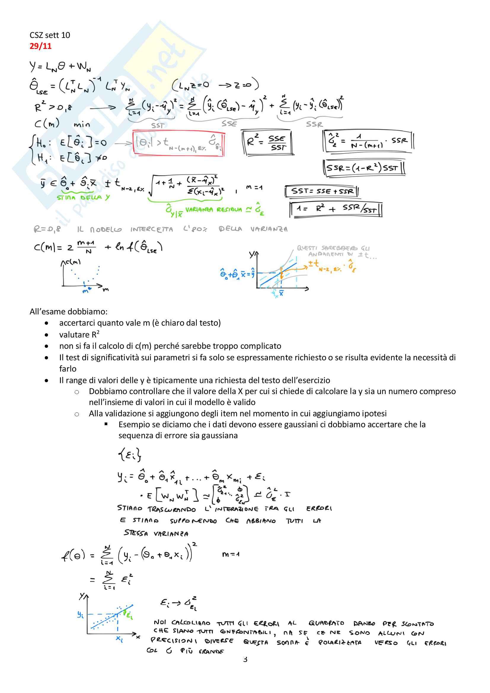 Appunti del corso Modellistica e identificazione, prof. De Santis Pag. 91