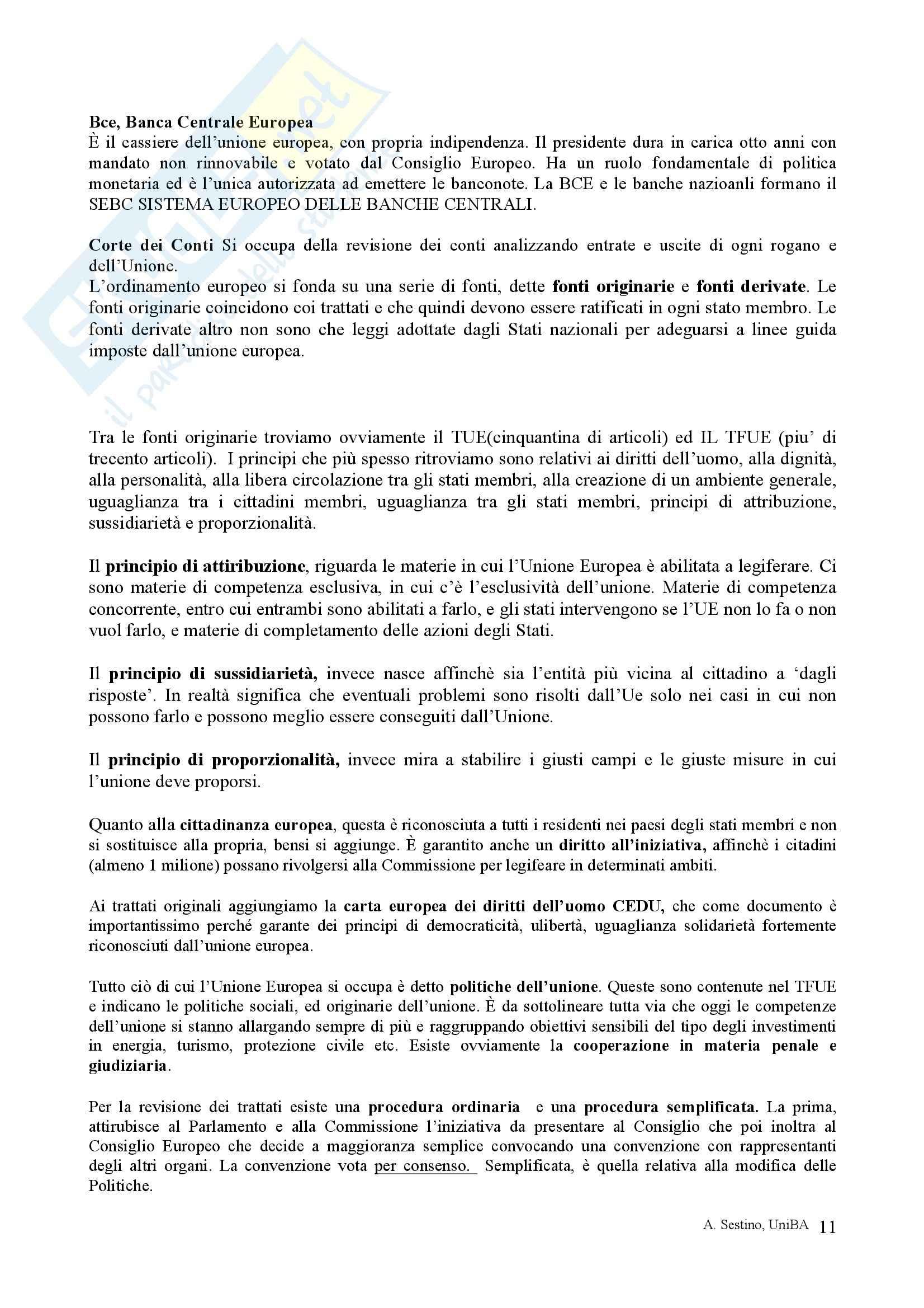 Riassunto esame Diritto pubblico, prof. Teotonico, libro consigliato Corso di diritto pubblico, Barbera, Fusaro Pag. 11