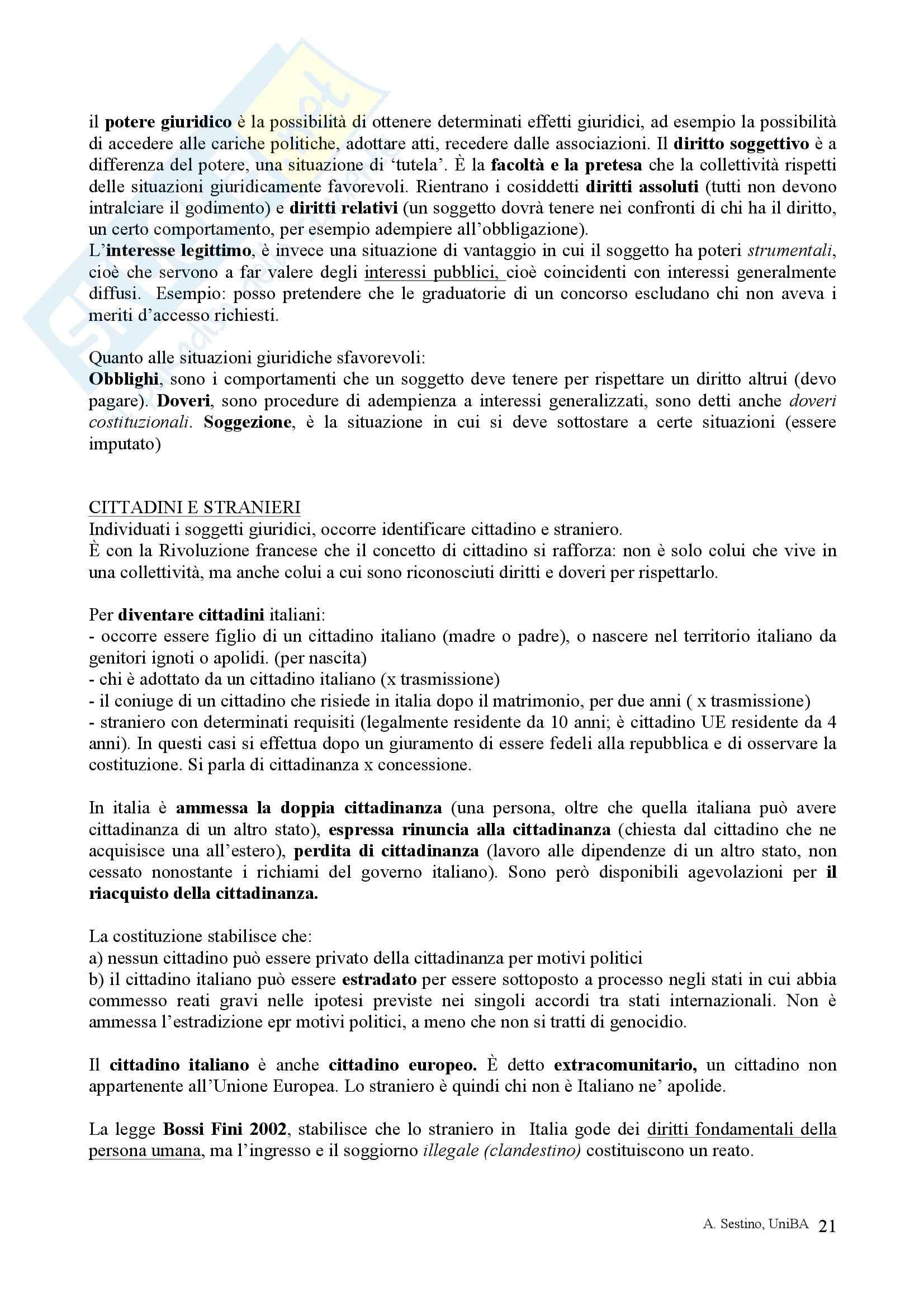 Riassunto esame Diritto pubblico, prof. Teotonico, libro consigliato Corso di diritto pubblico, Barbera, Fusaro Pag. 21