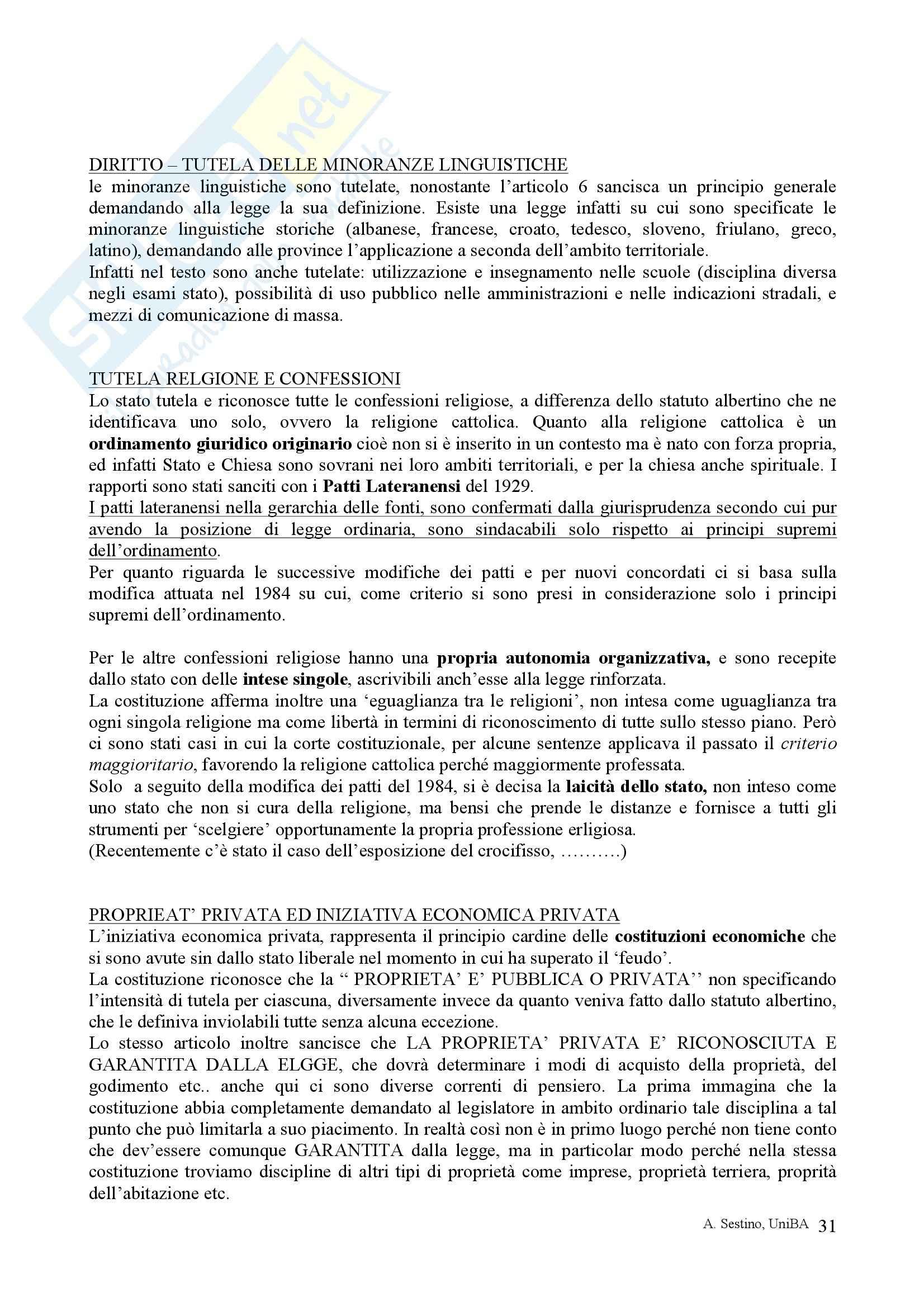 Riassunto esame Diritto pubblico, prof. Teotonico, libro consigliato Corso di diritto pubblico, Barbera, Fusaro Pag. 31