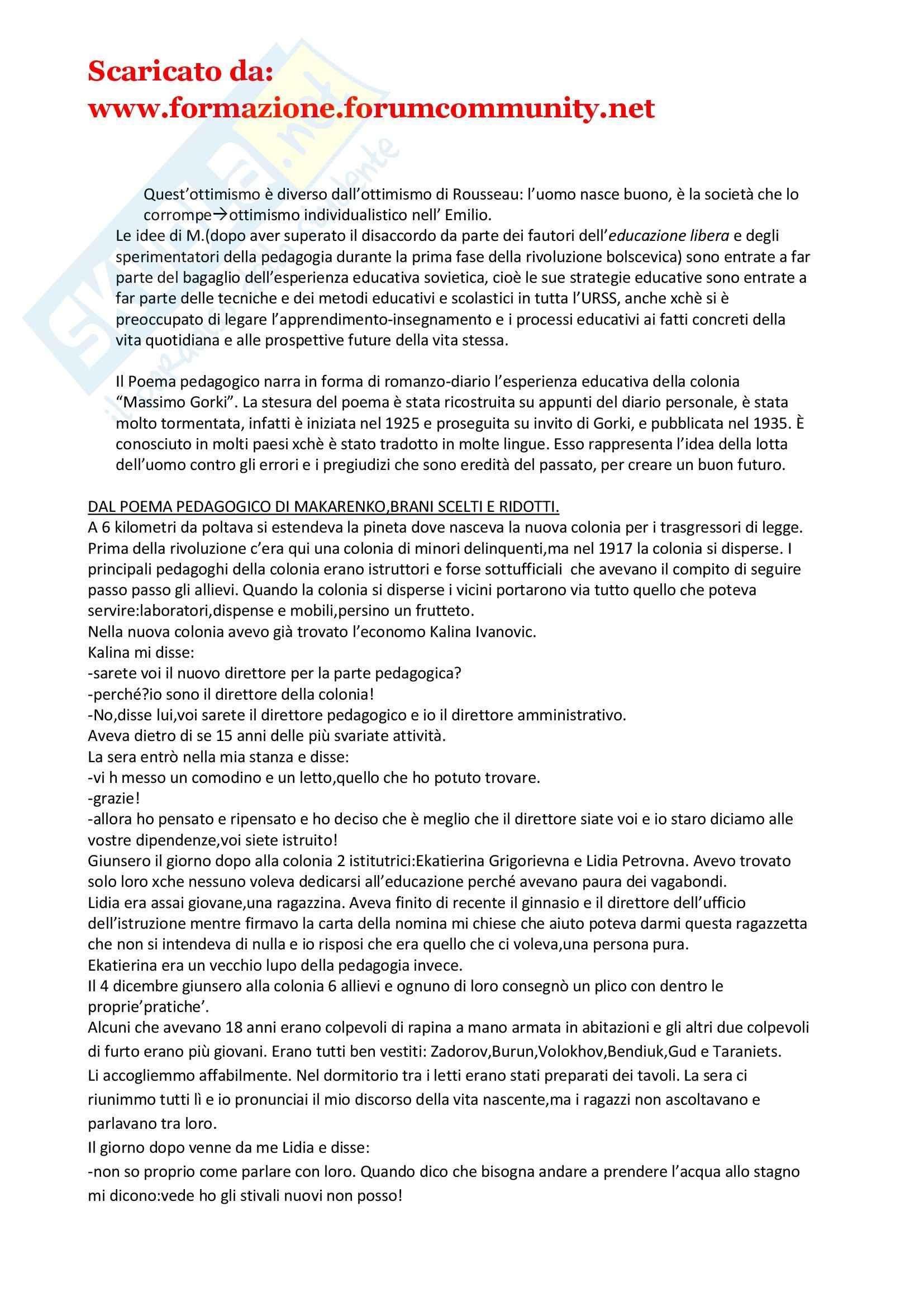 Pedagogia della devianza Pag. 11