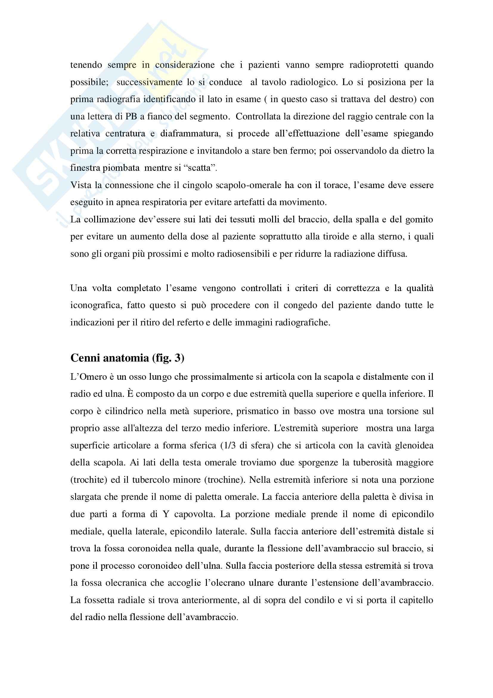 Esecuzione RX Omero in 4 proiezioni con fissatore esterno Pag. 6