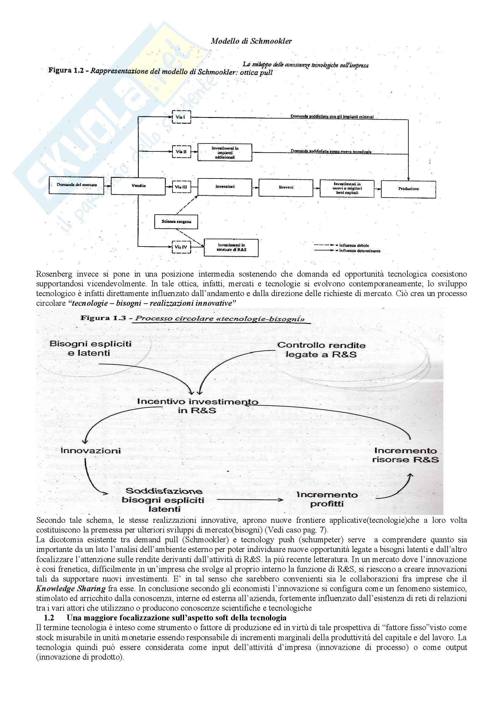 Riassunto esame Management, prof. Ferretti, libro consigliato La Gestione dell'Innovazione nelle Piccole e Medie Imprese, Ferretti Pag. 2