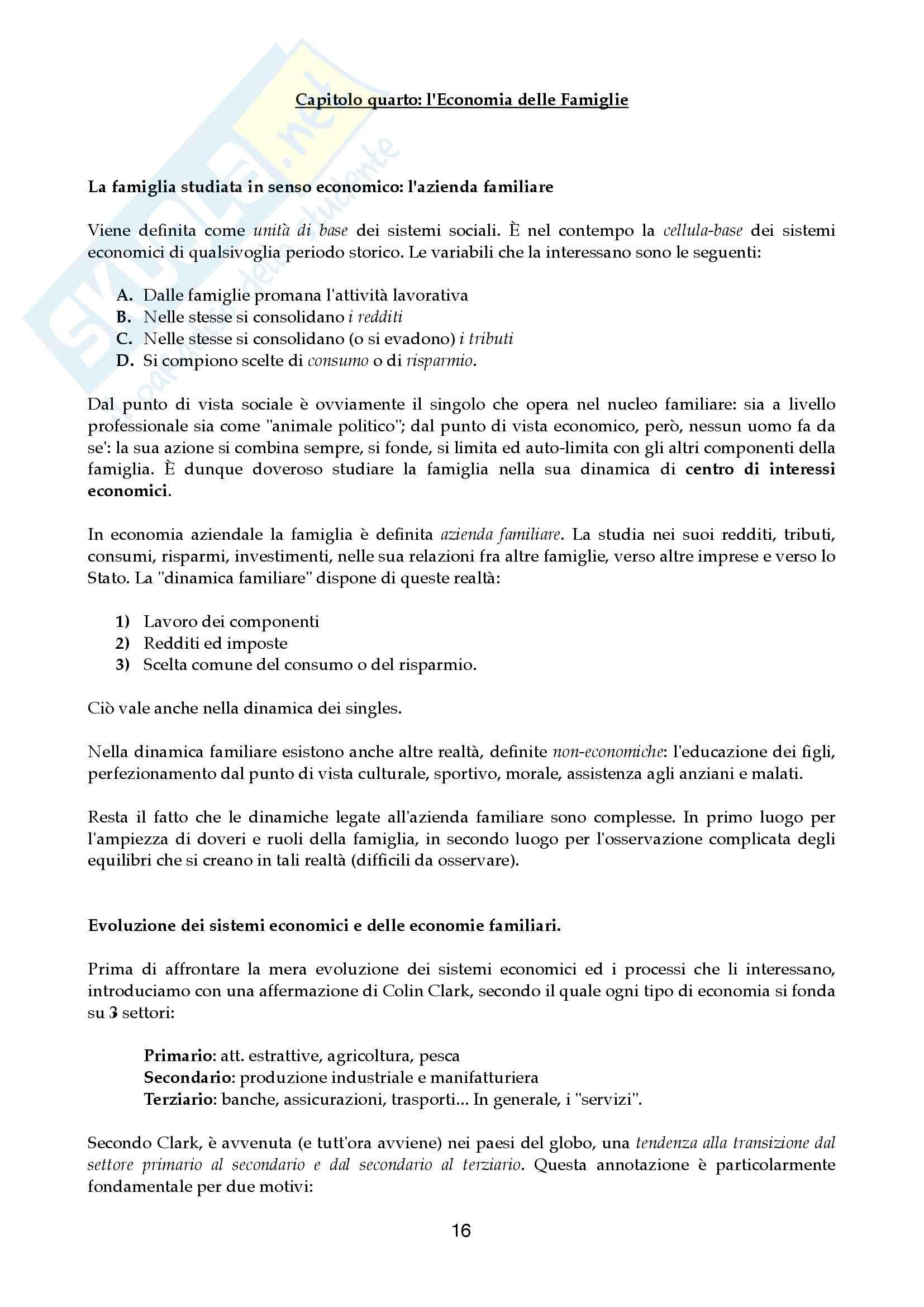 Riassunto esame Economia aziendale, prof. Canziani, libro consigliato Lezioni di Economia Aziendale Pag. 16