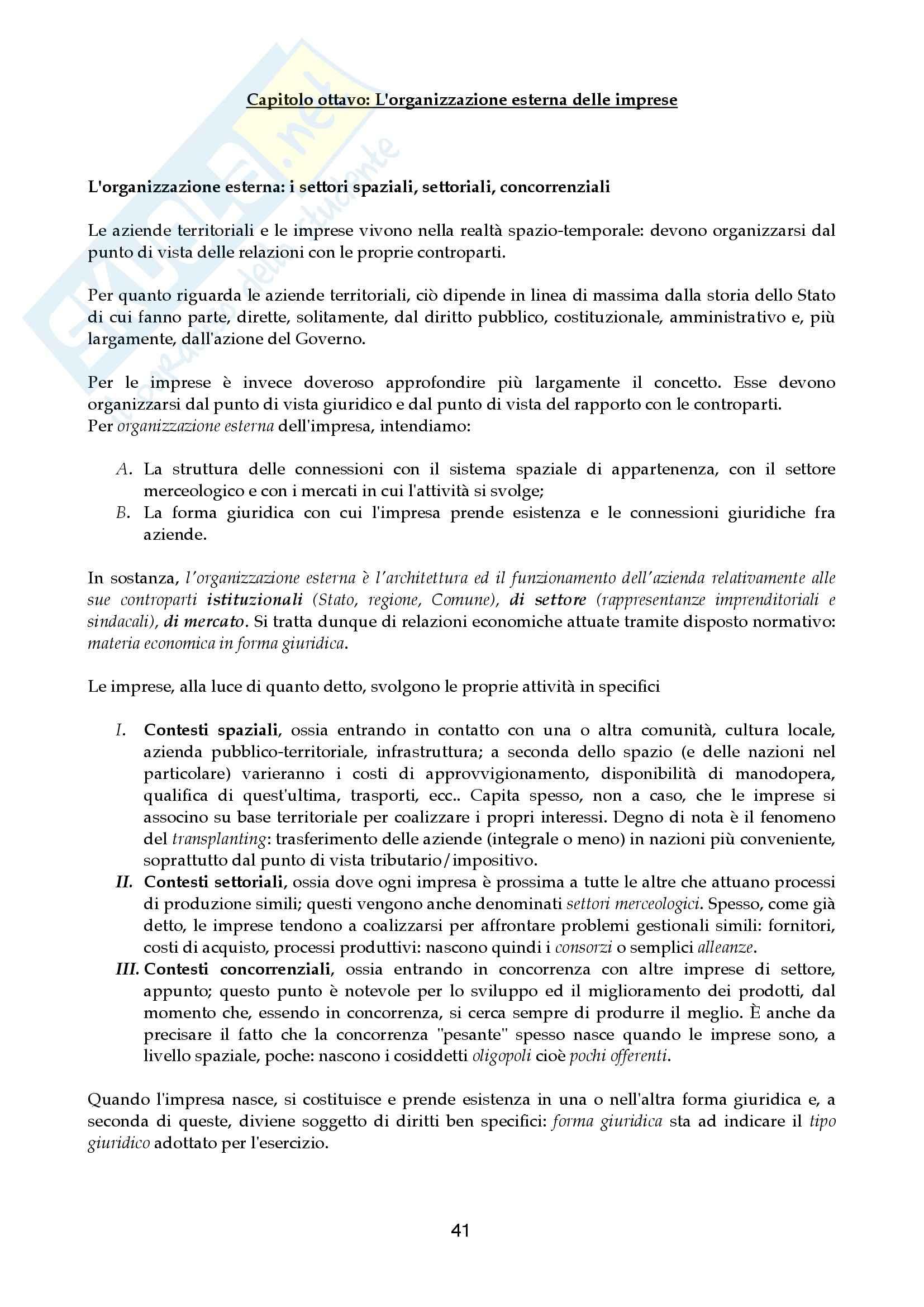 Riassunto esame Economia aziendale, prof. Canziani, libro consigliato Lezioni di Economia Aziendale Pag. 41