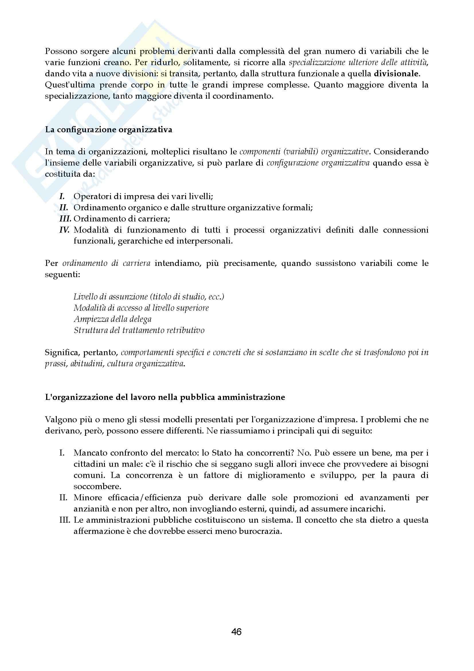 Riassunto esame Economia aziendale, prof. Canziani, libro consigliato Lezioni di Economia Aziendale Pag. 46