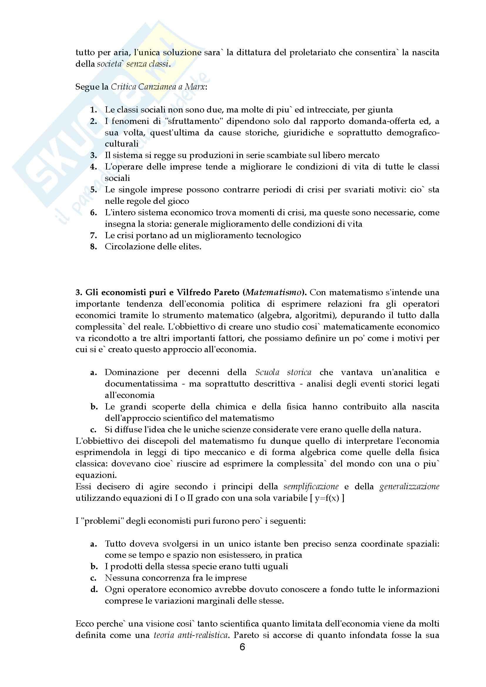 Riassunto esame Economia aziendale, prof. Canziani, libro consigliato Lezioni di Economia Aziendale Pag. 6