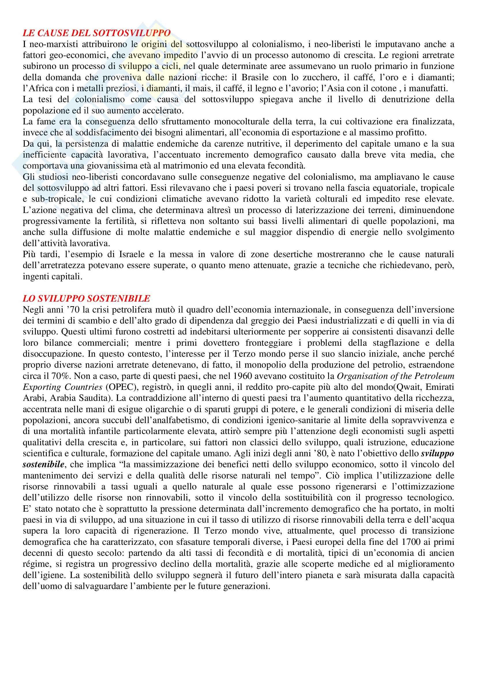 Storia economica - Riassunto esame, prof. ventura Pag. 46