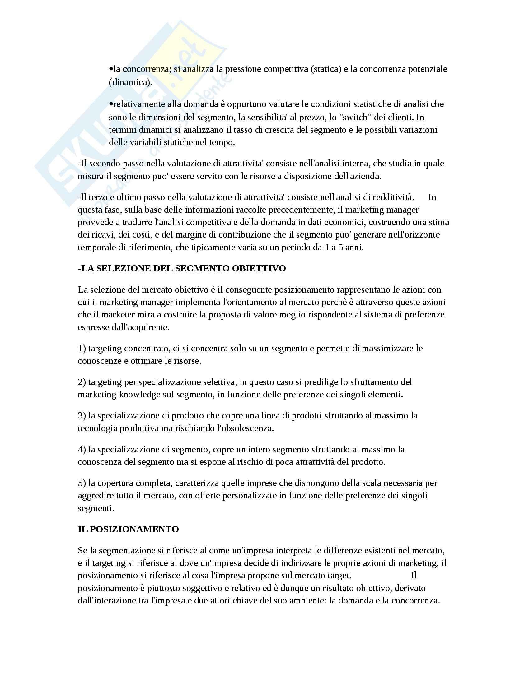 Riassunto esame Marketing, prof. D'Amico, libro consigliato Marketing e fiducia, Castaldo Pag. 21