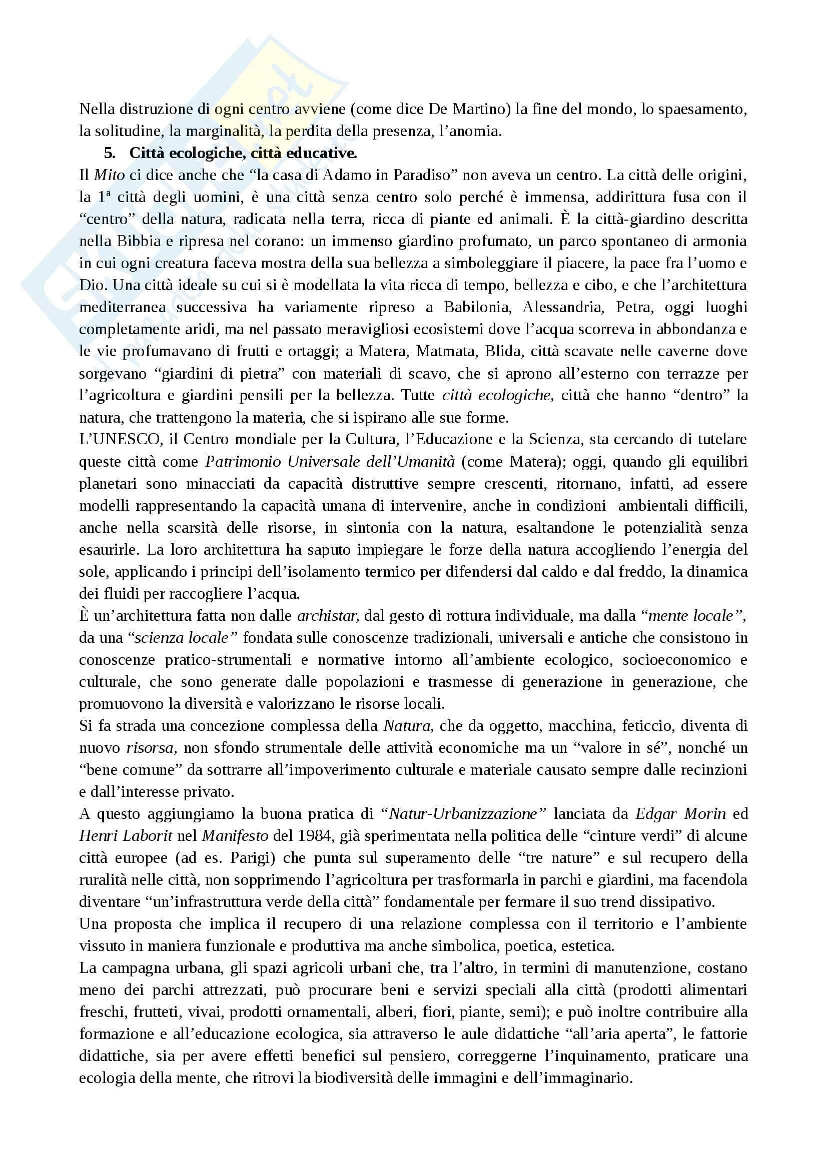 Riassunto esame Didattica Generale, prof. Marchetti, libro consigliato Alfabeti Ecologici Pag. 16