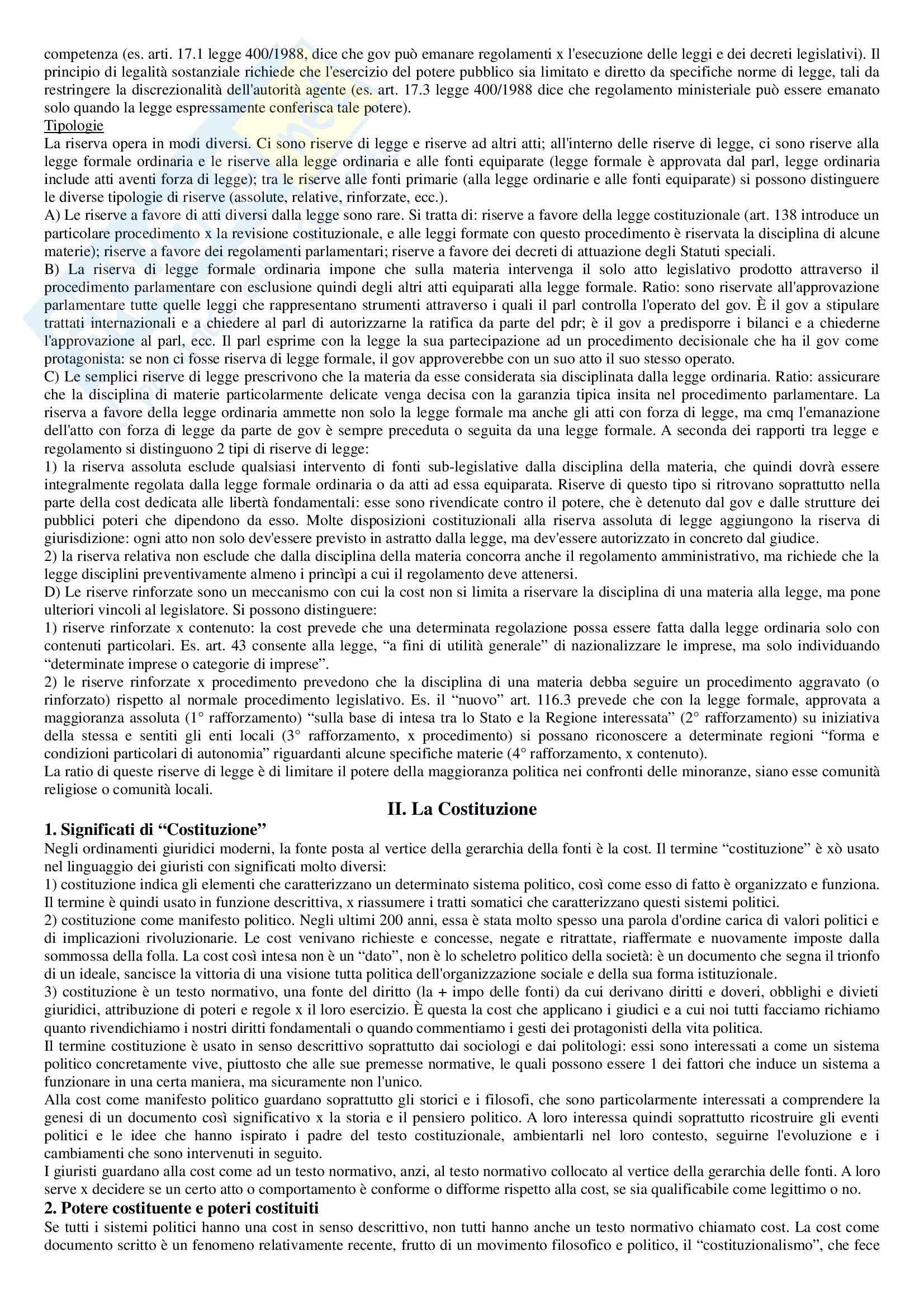 Riassunto esame Diritto pubblico, prof. Strazzari, libro consigliato Diritto pubblico Bin, Pitruzzella, Giappichelli Pag. 26