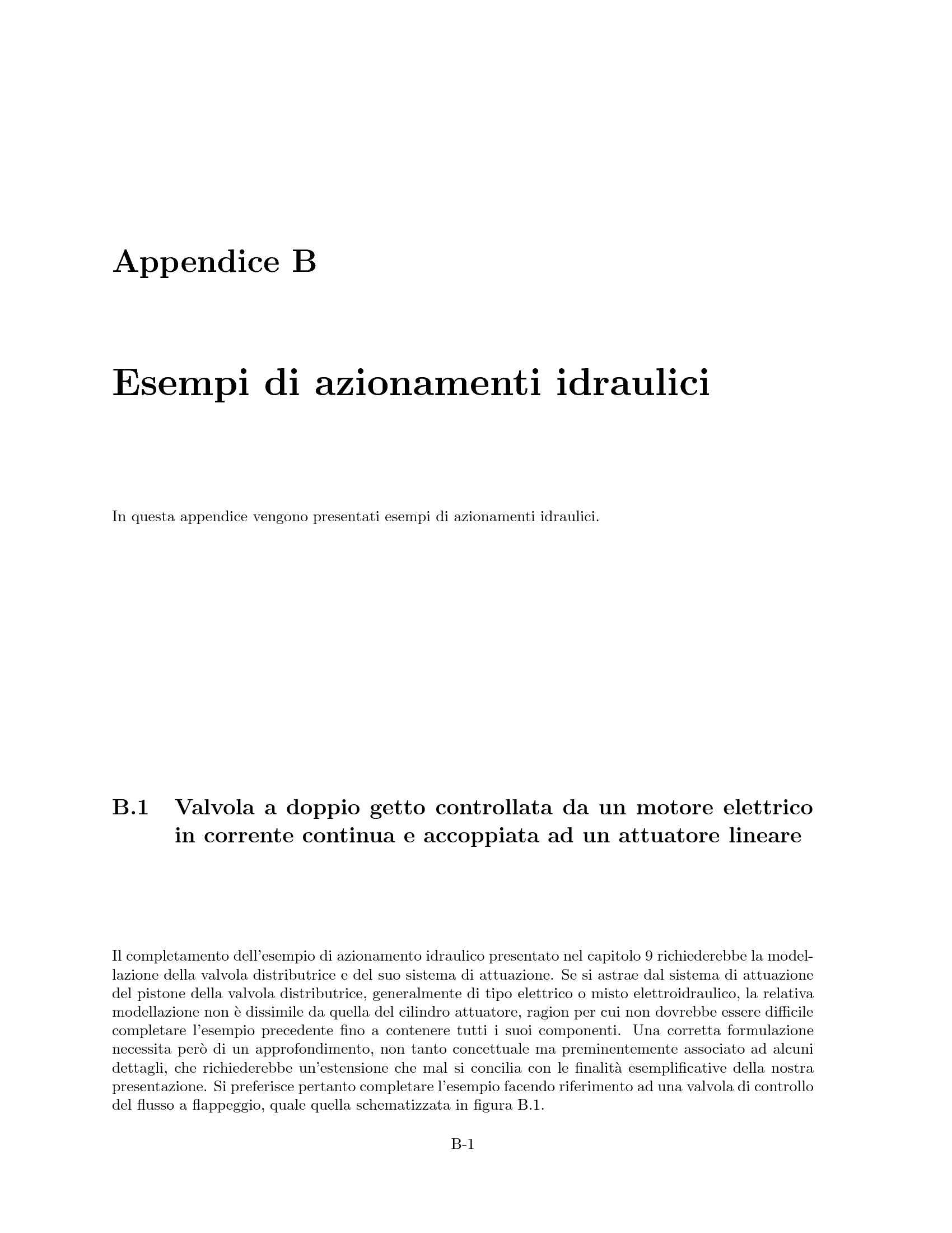 Azionamenti idraulici - Valvola a doppio getto