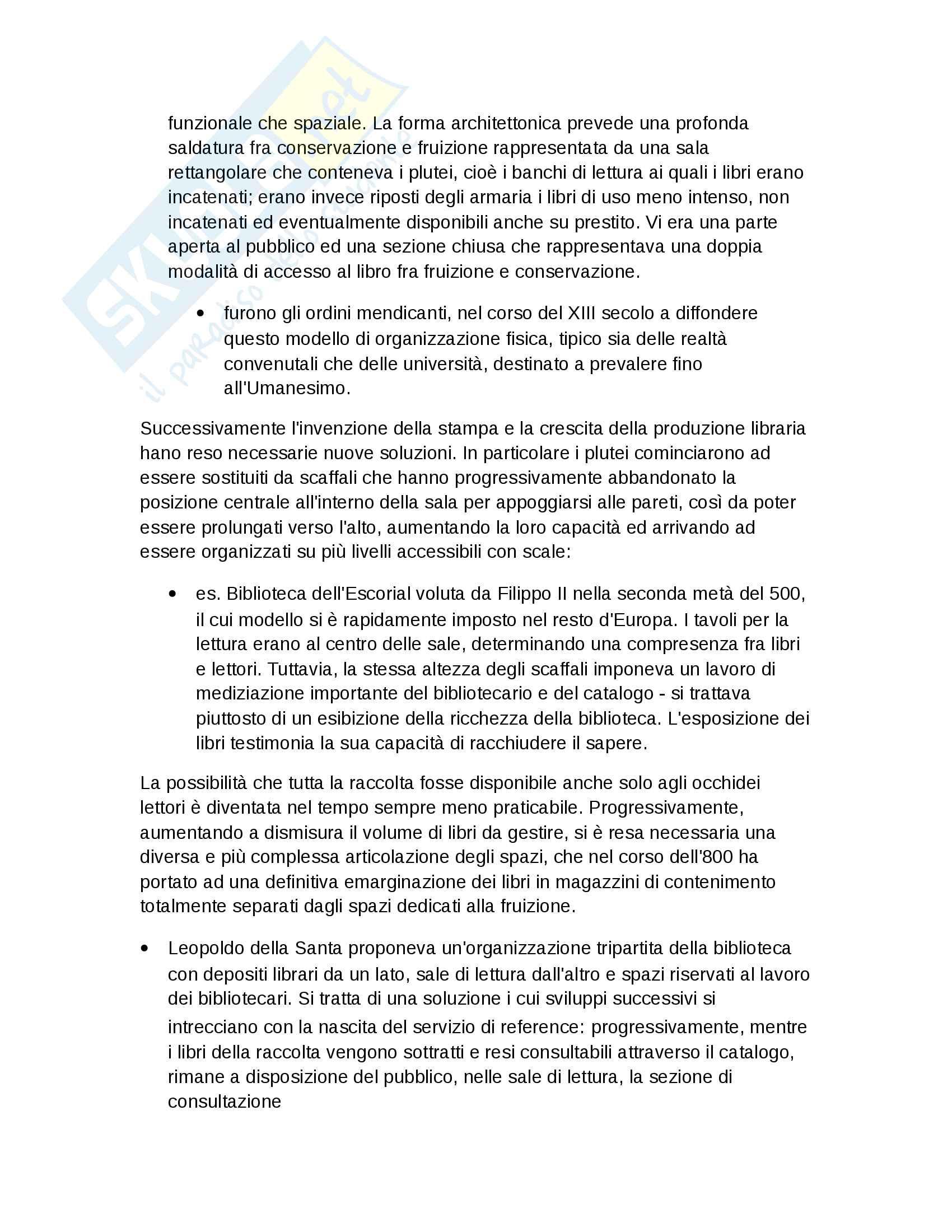 """Riassunto esame Biblioteconomia, prof. Salarelli, libro consigliato """"introduzione alla biblioteconomia"""" di Granata Pag. 86"""