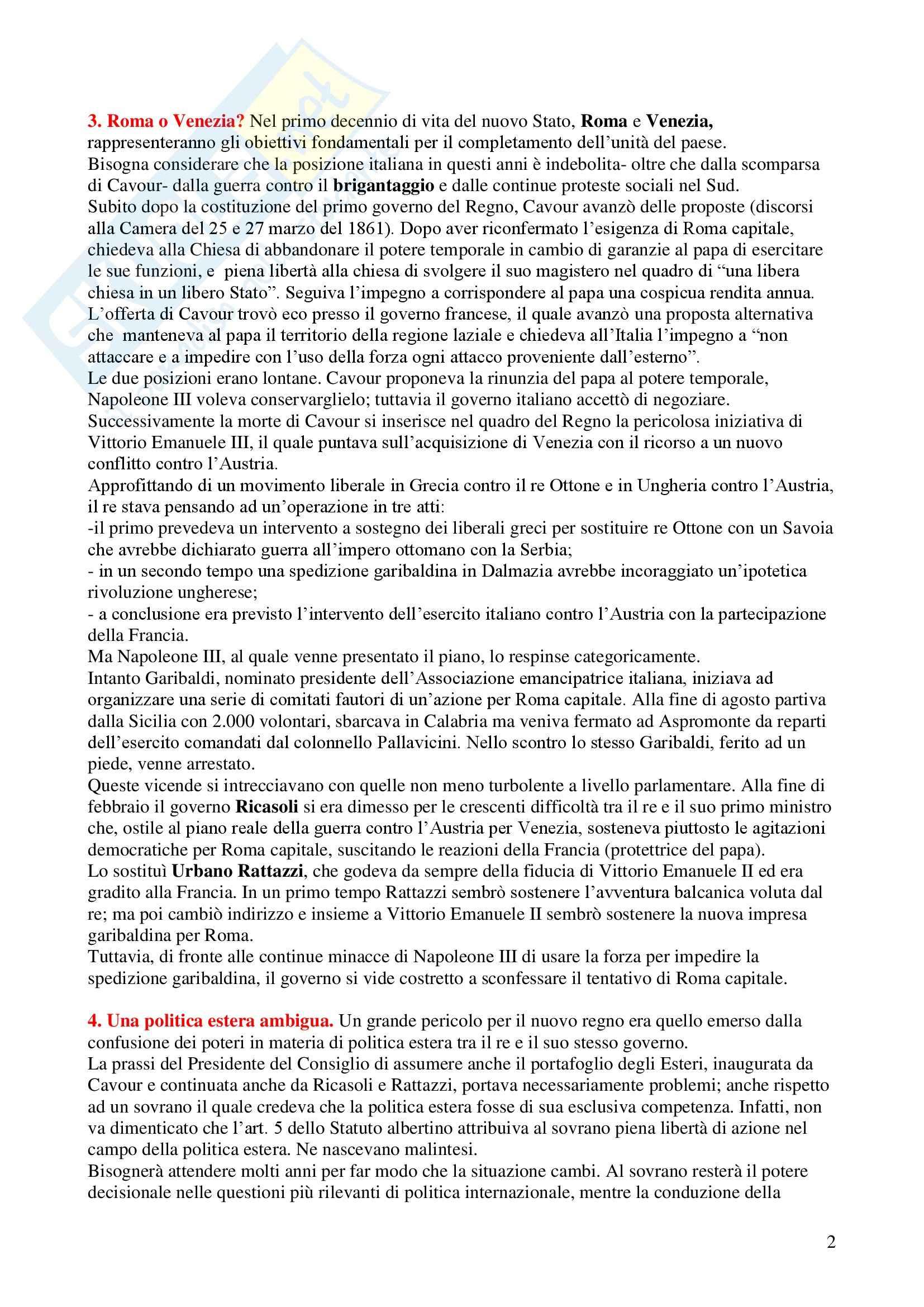 Politica estera dell'Italia Pag. 2