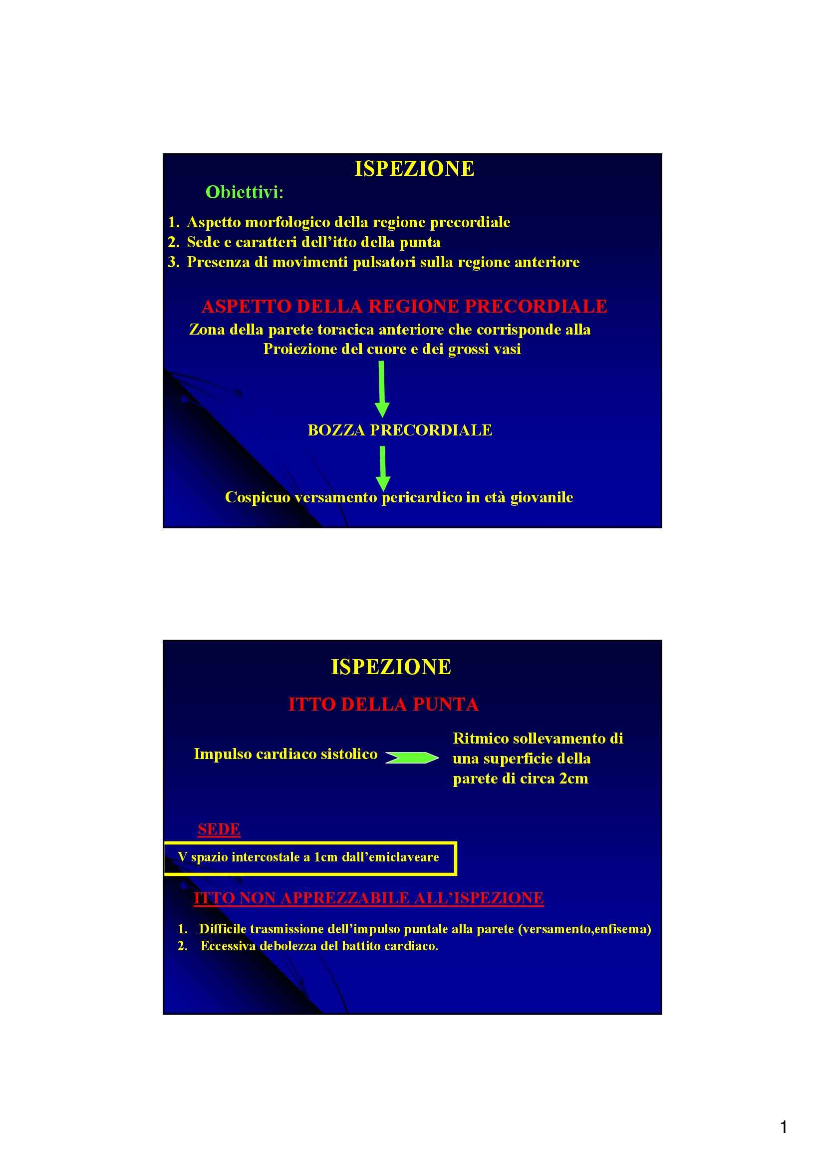 Semeiotica Cardiovascolare