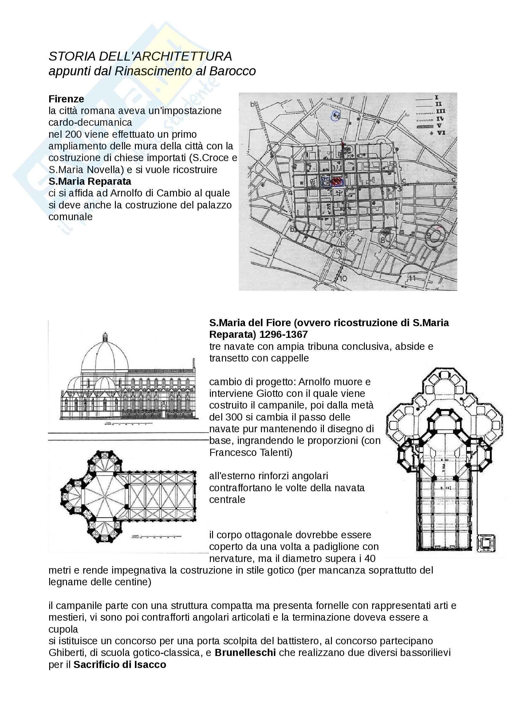 appunto A. Scotti Storia dell'Architettura e degli Insediamenti Umani in età antica e moderna