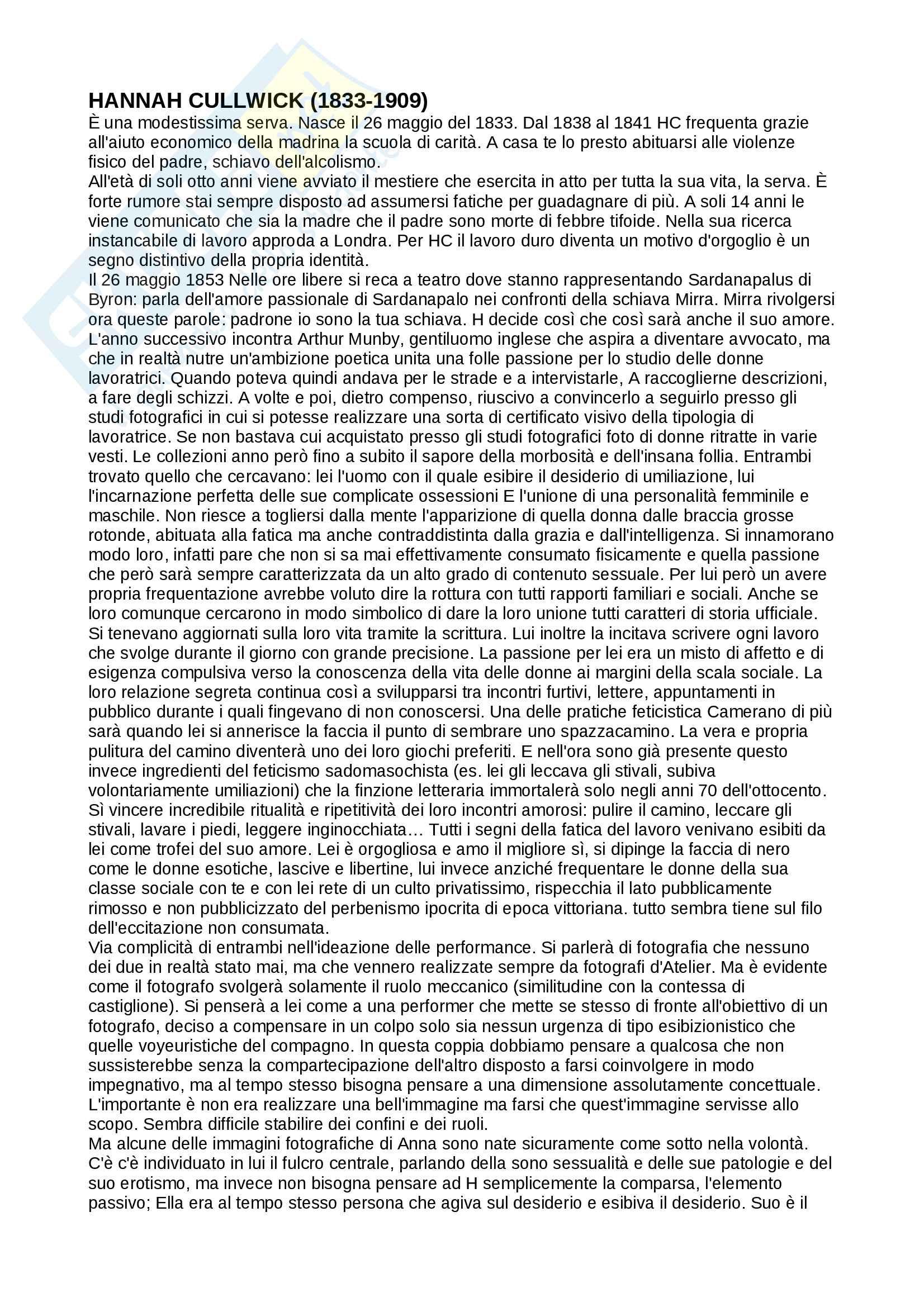 Riassunto per esame di fotografia, prof.ssa Muzzarelli, libro consigliato Il corpo e l'azione, Muzzarelli Pag. 11