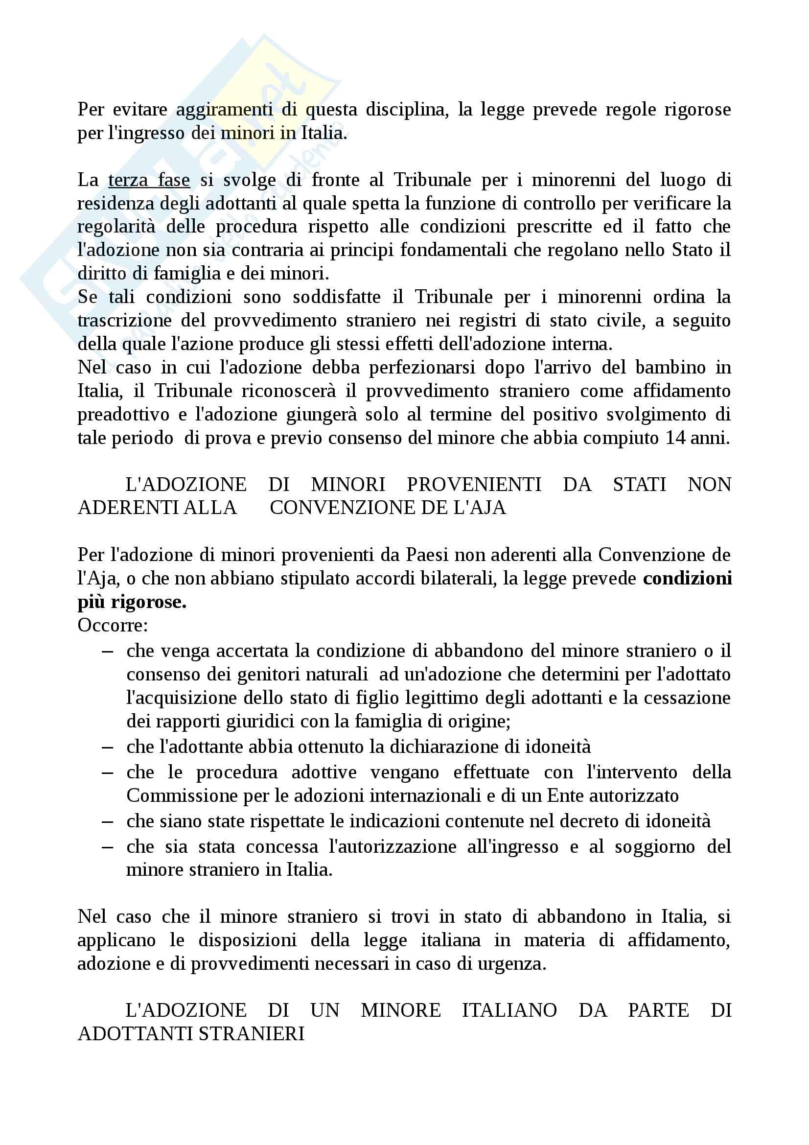 Riassunto Diritto di famiglia, prof. Grondona, libro consigliato diritto di famiglia, Zanichelli Pag. 101