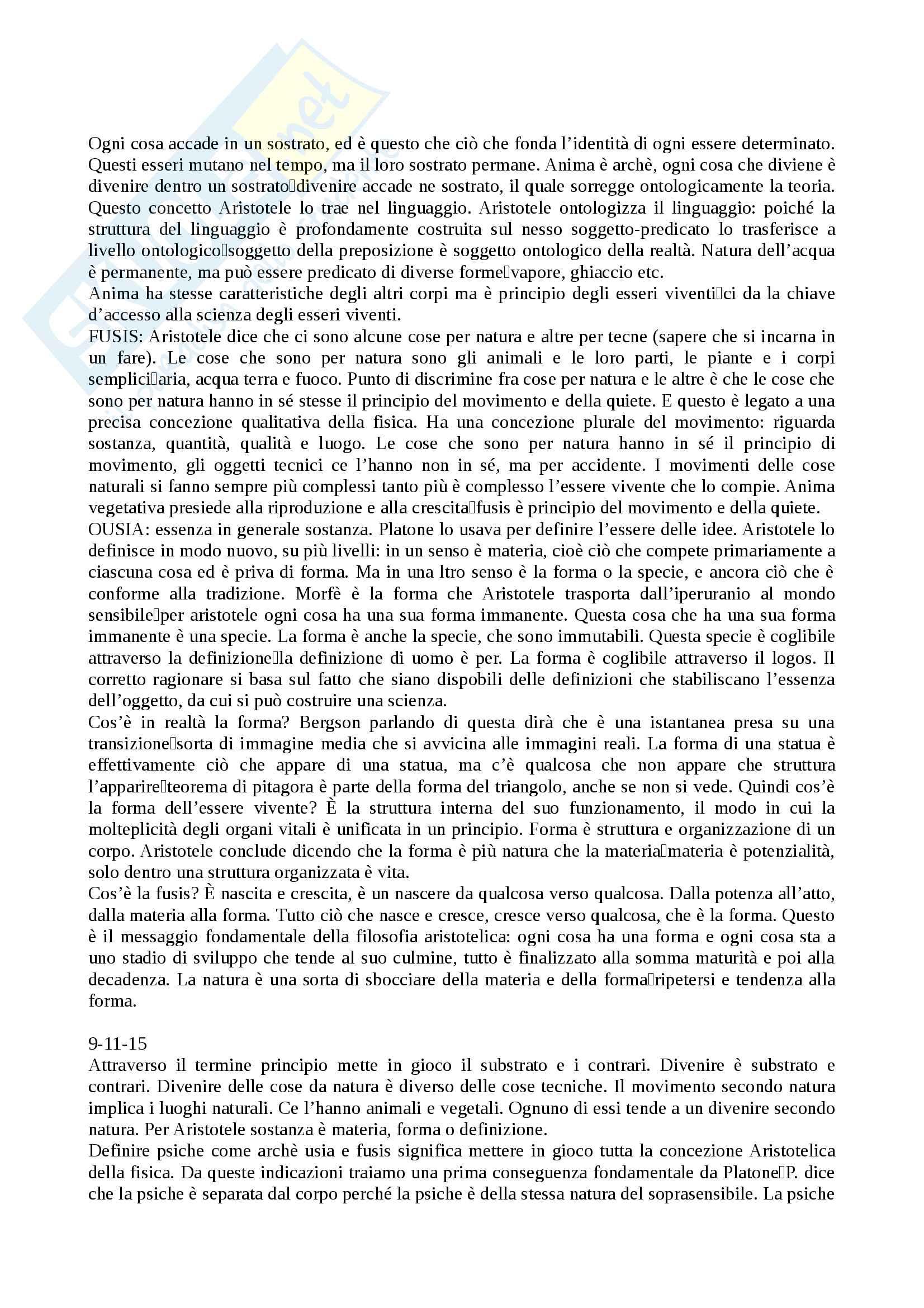 Storia della filosofia Pag. 11