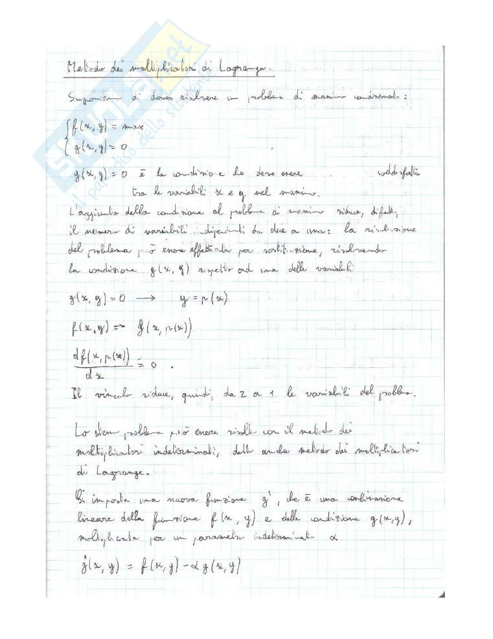 Termodinamica statistica, Chimica fisica Pag. 11