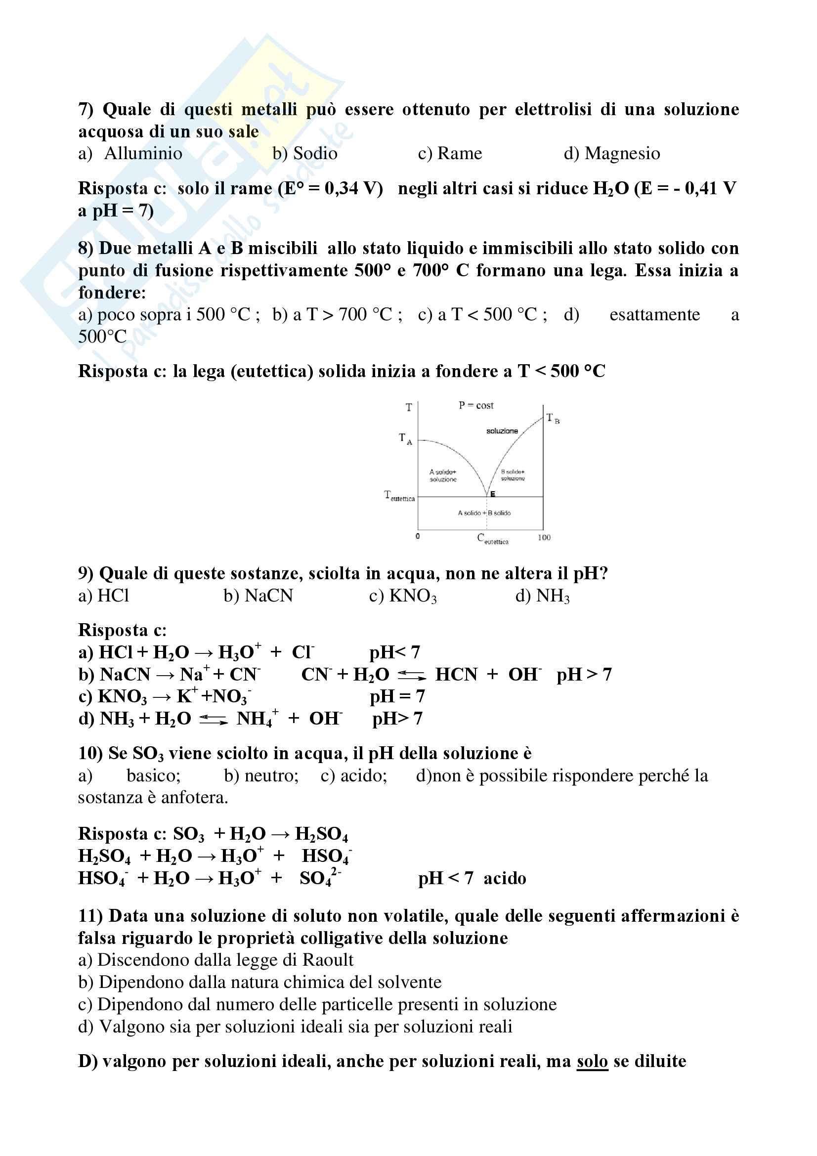 Chimica dell'edificio - Temi d'esame svolti Pag. 76